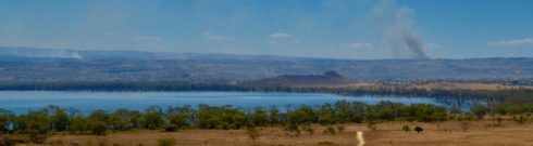 Lake Nahuru from Lion Hill Lodge