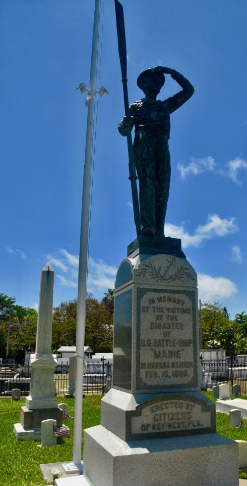 U.S.S.Maine Statue, Key West Cemetery