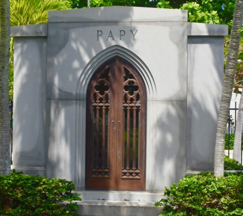 Papy Gothic Revival Crypt, Key West Cemetery