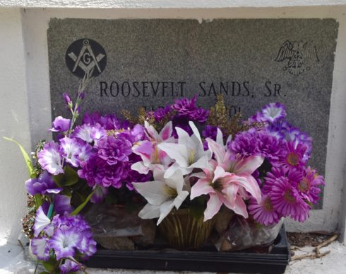 Roosevelt Sands, Key West Cemetery