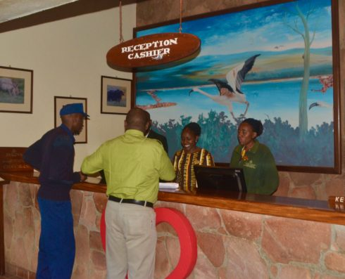 Sarova Reception Desk
