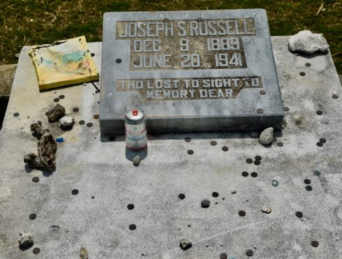 Sloppy Joe Russell, Key West Cemetery
