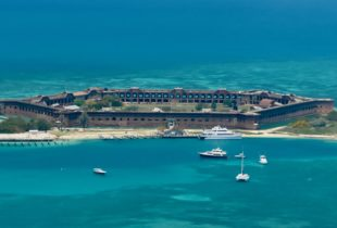 Fort Jefferson from the Air, Dry Tortugas