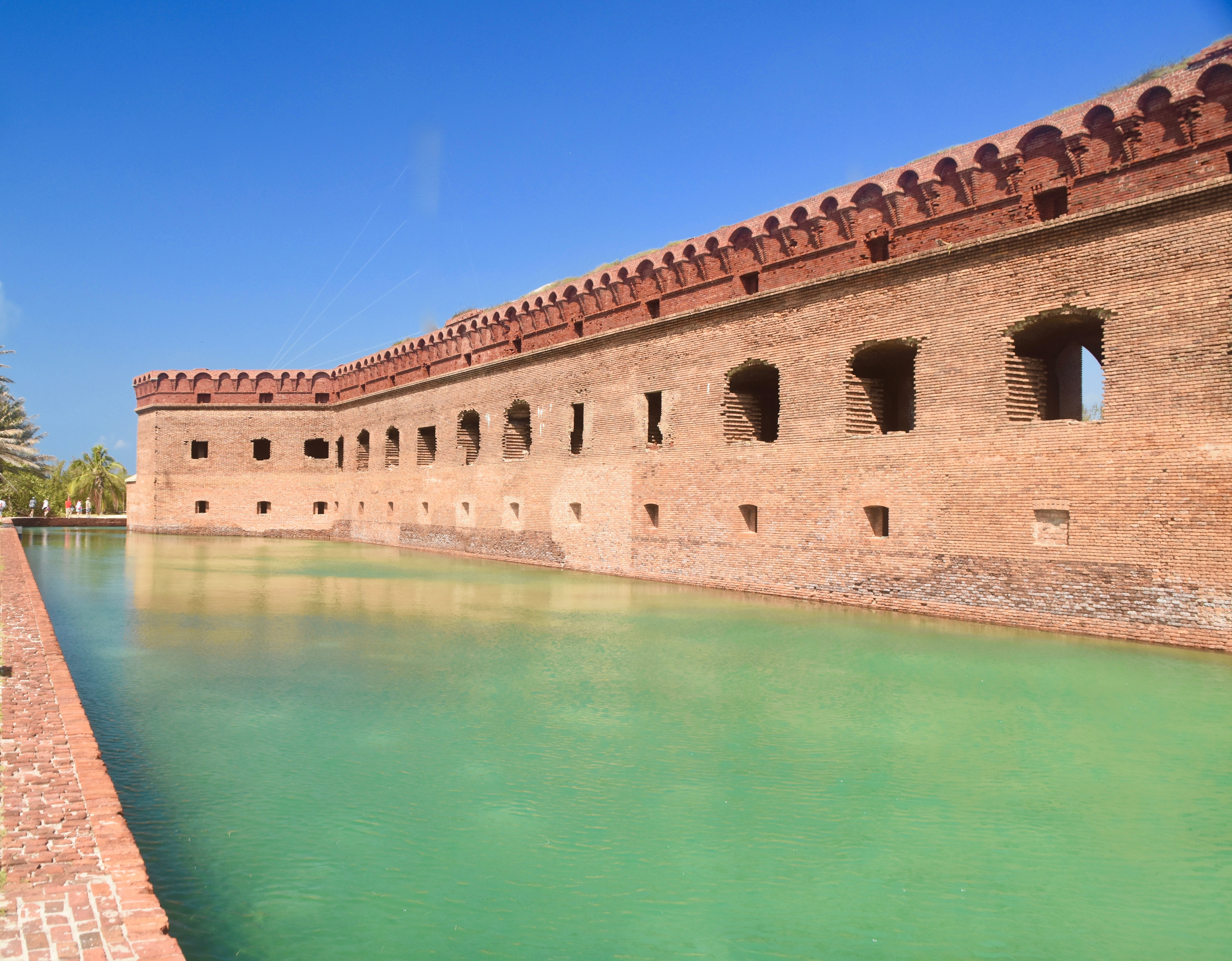 Fort Jefferson Moat, Dry Tortugas