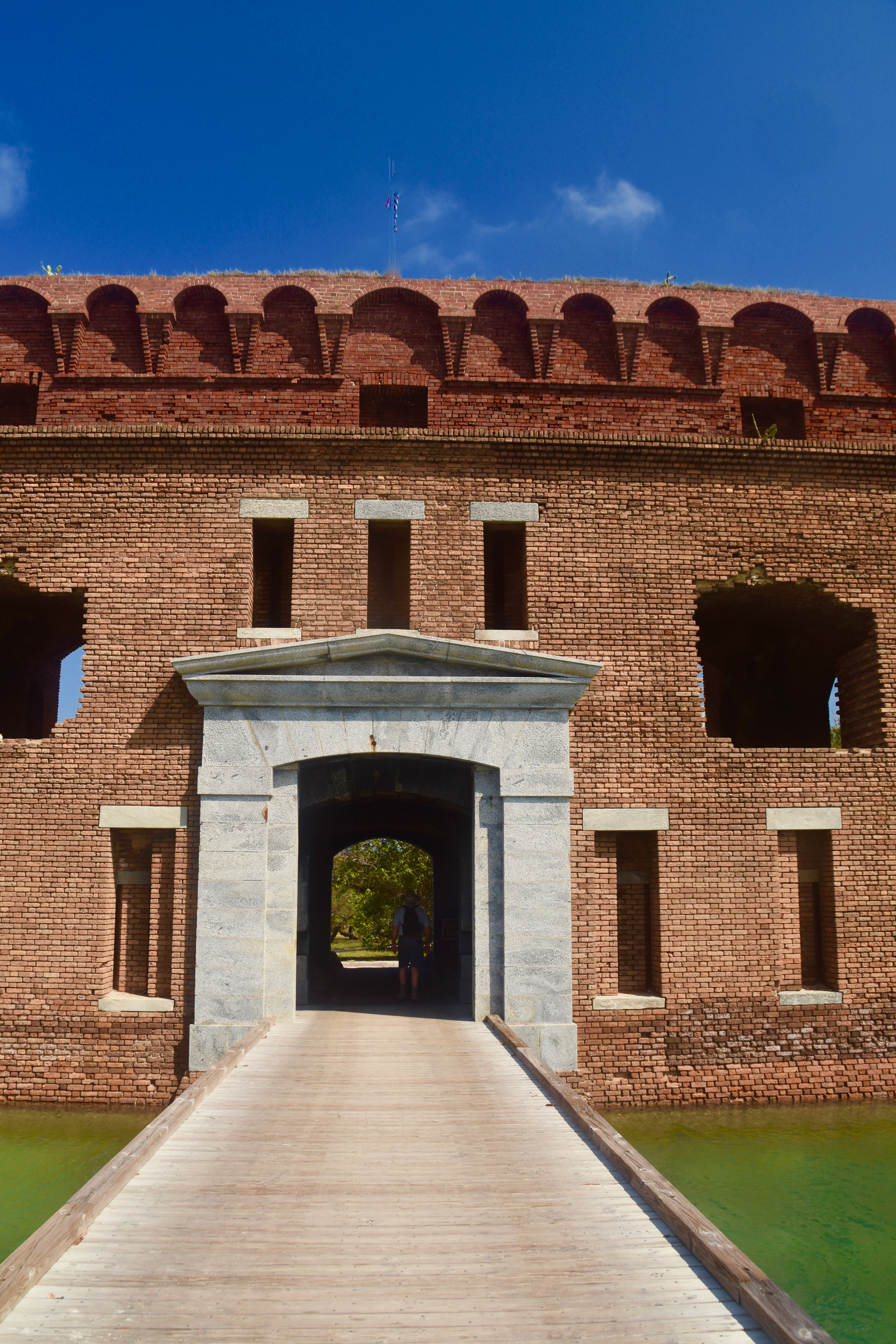 Entrance to Fort Jefferson, Dry Tortugas