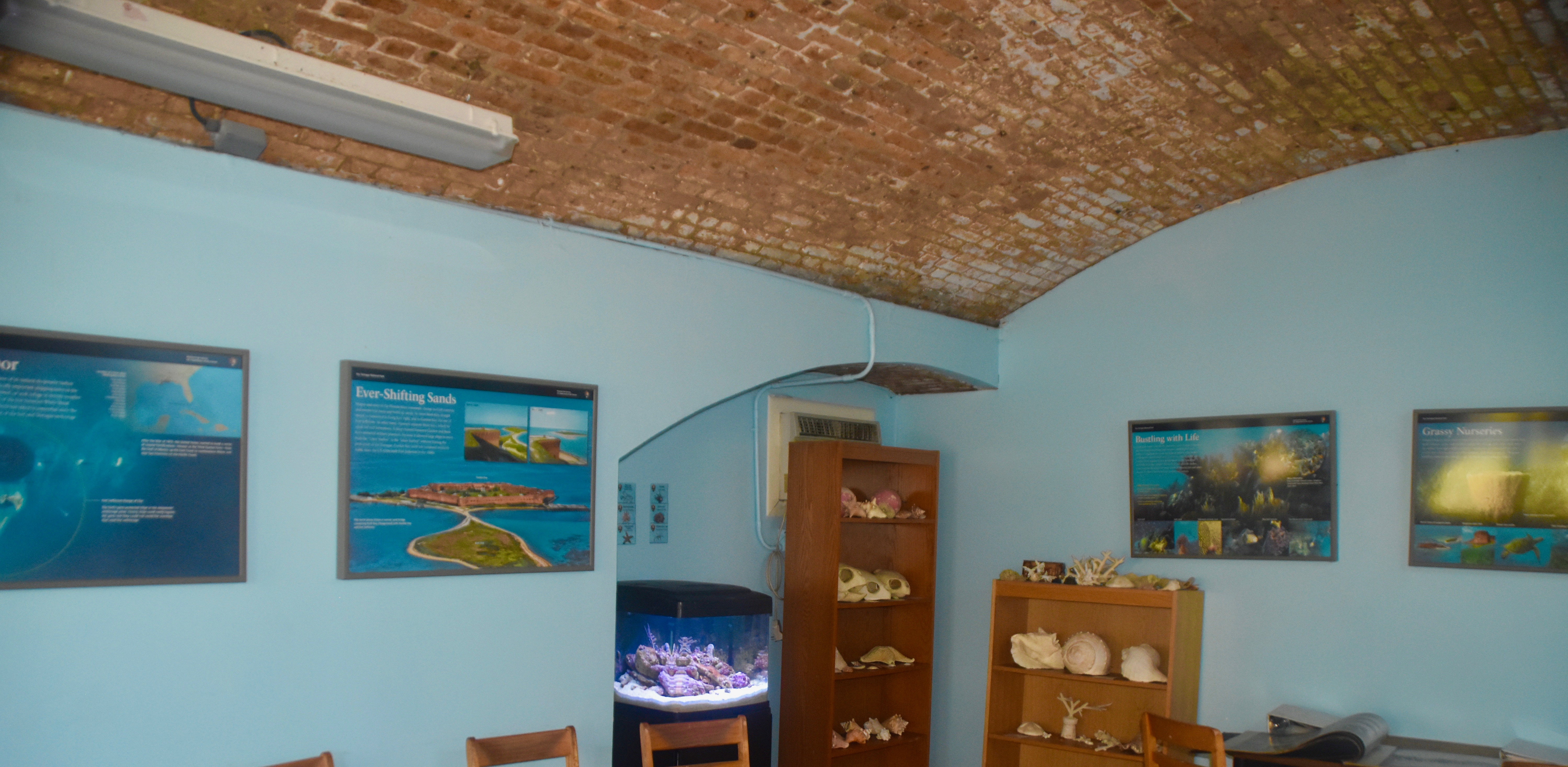 Visitor Center, Dry Tortugas