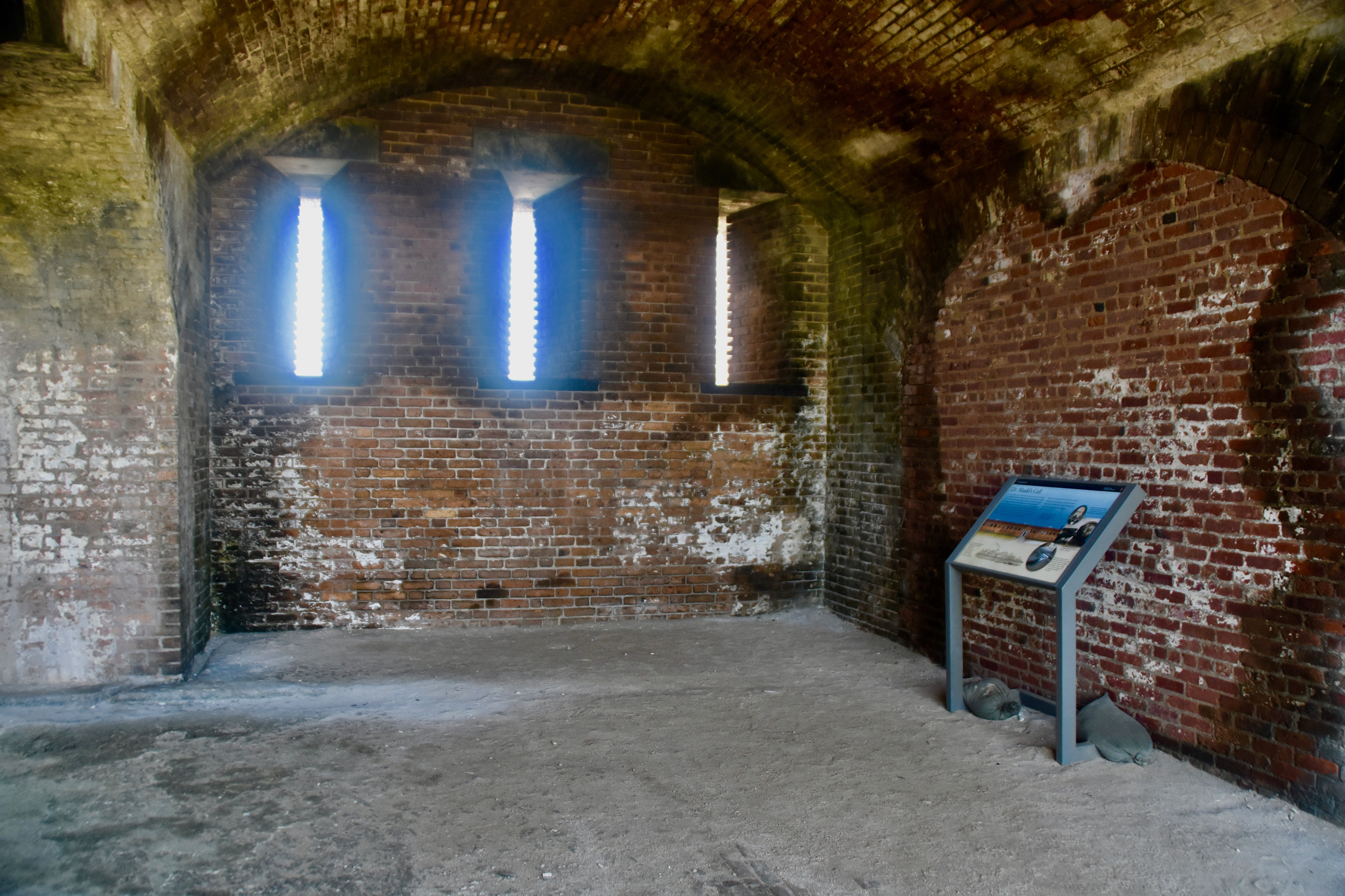 Dr. Mudd's Cell, Dry Tortugas