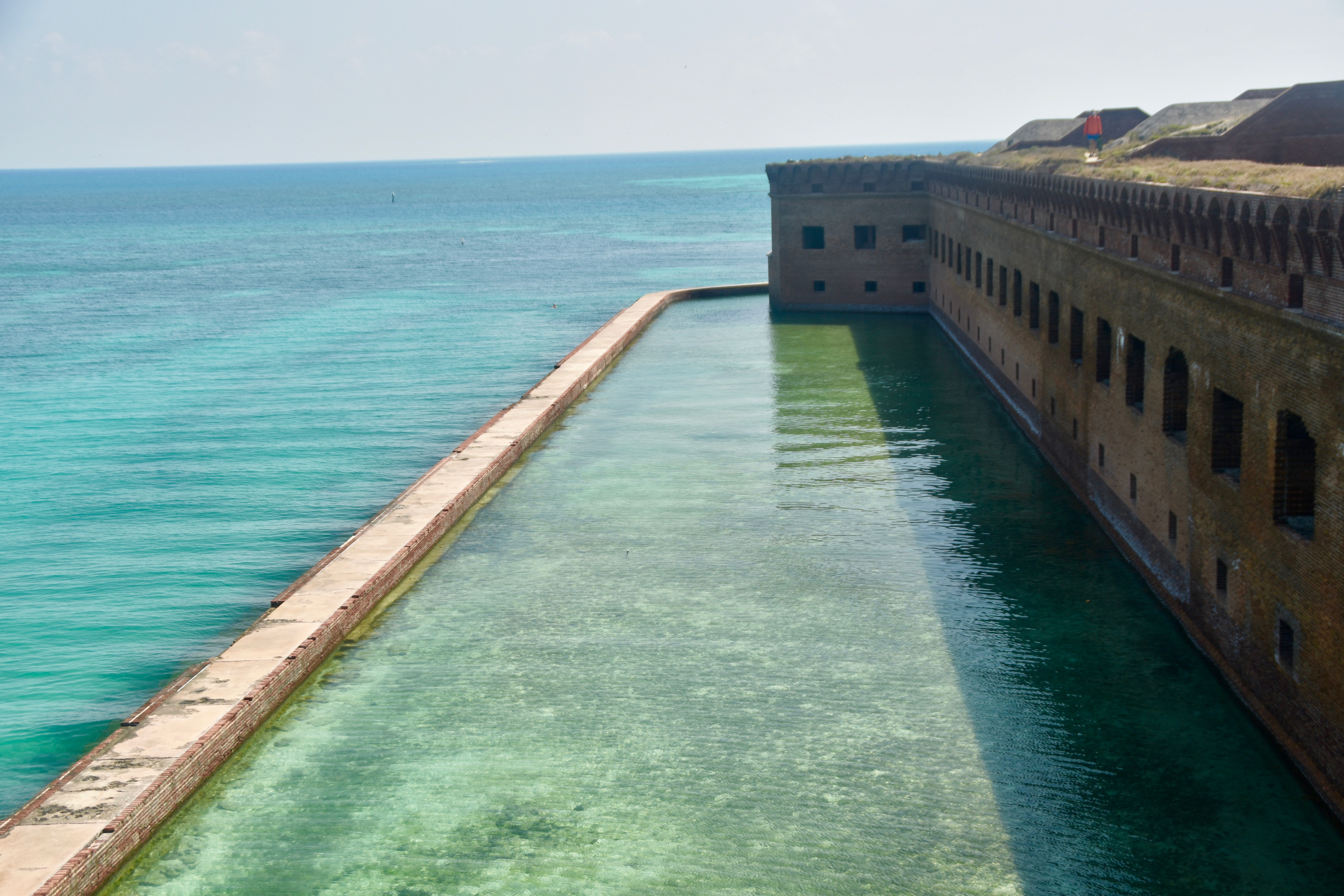 The Moat From the Top, Dry Tortugas
