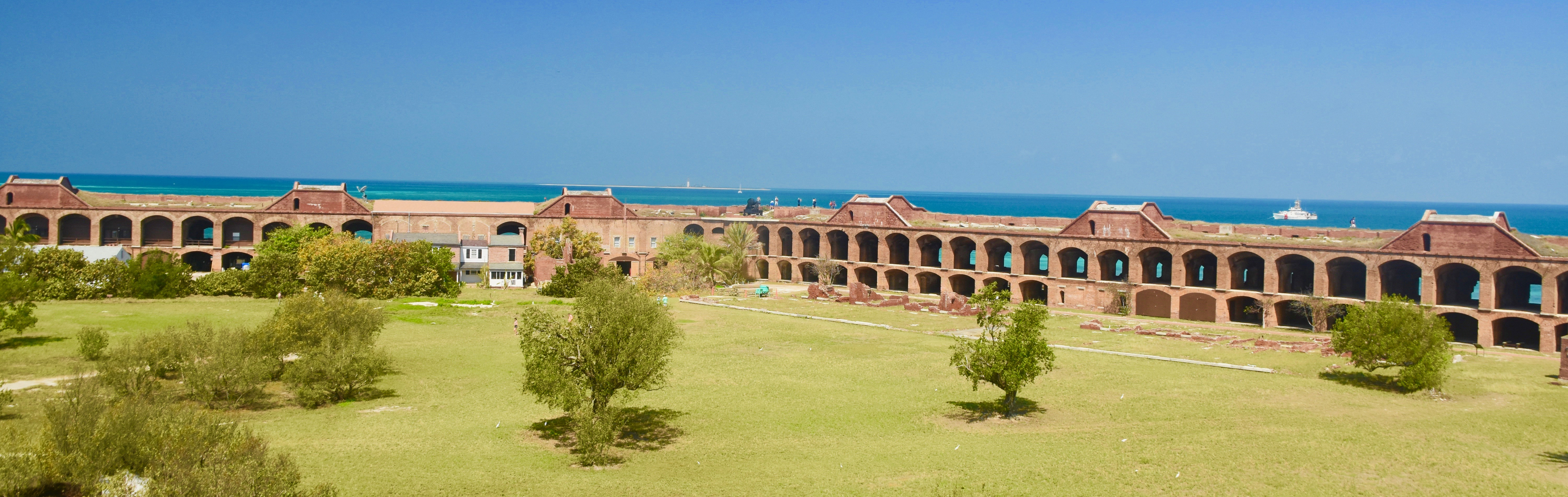View of Interior from the Top, Dry Tortugas