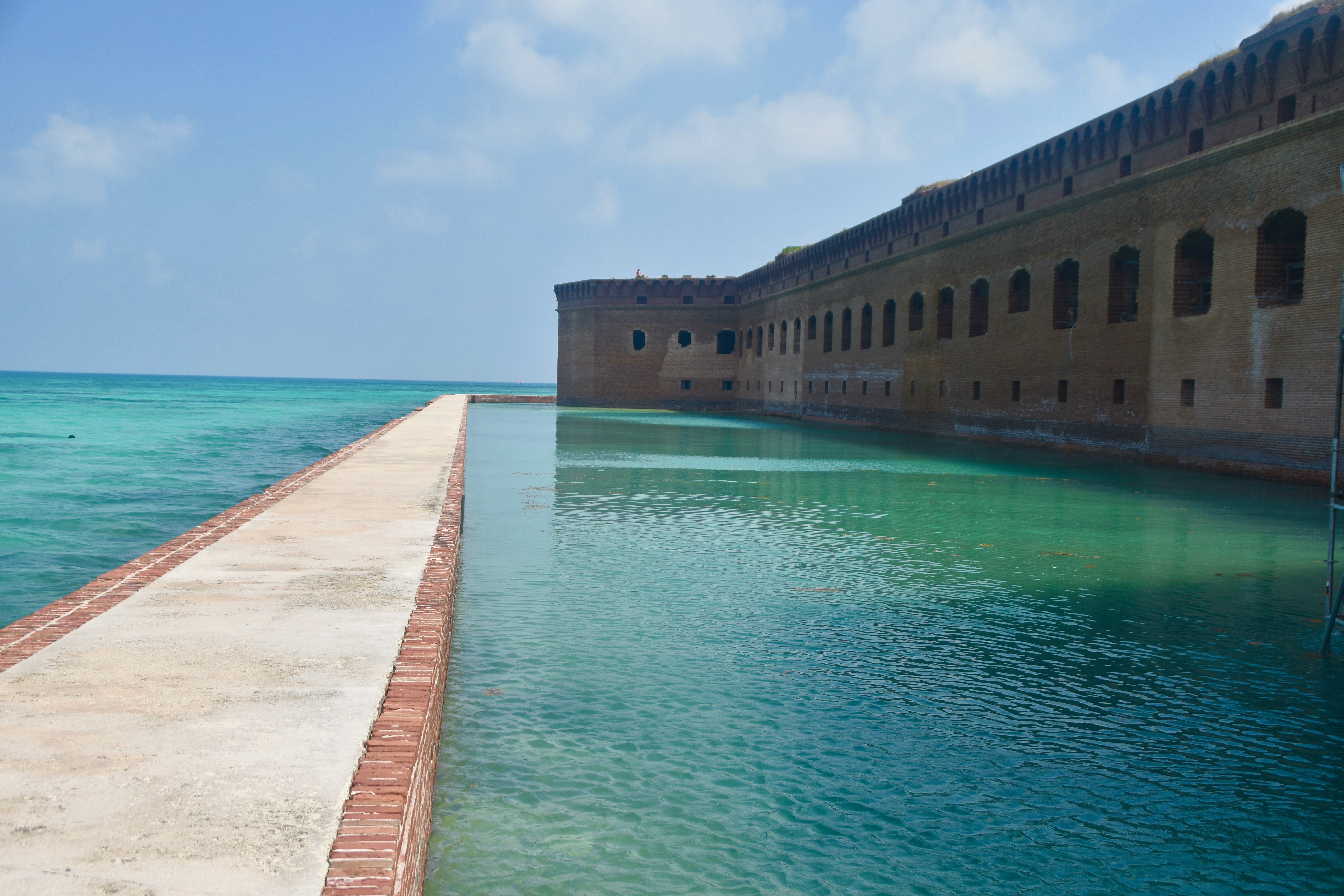The Walk Along the Moat, Dry Tortugas