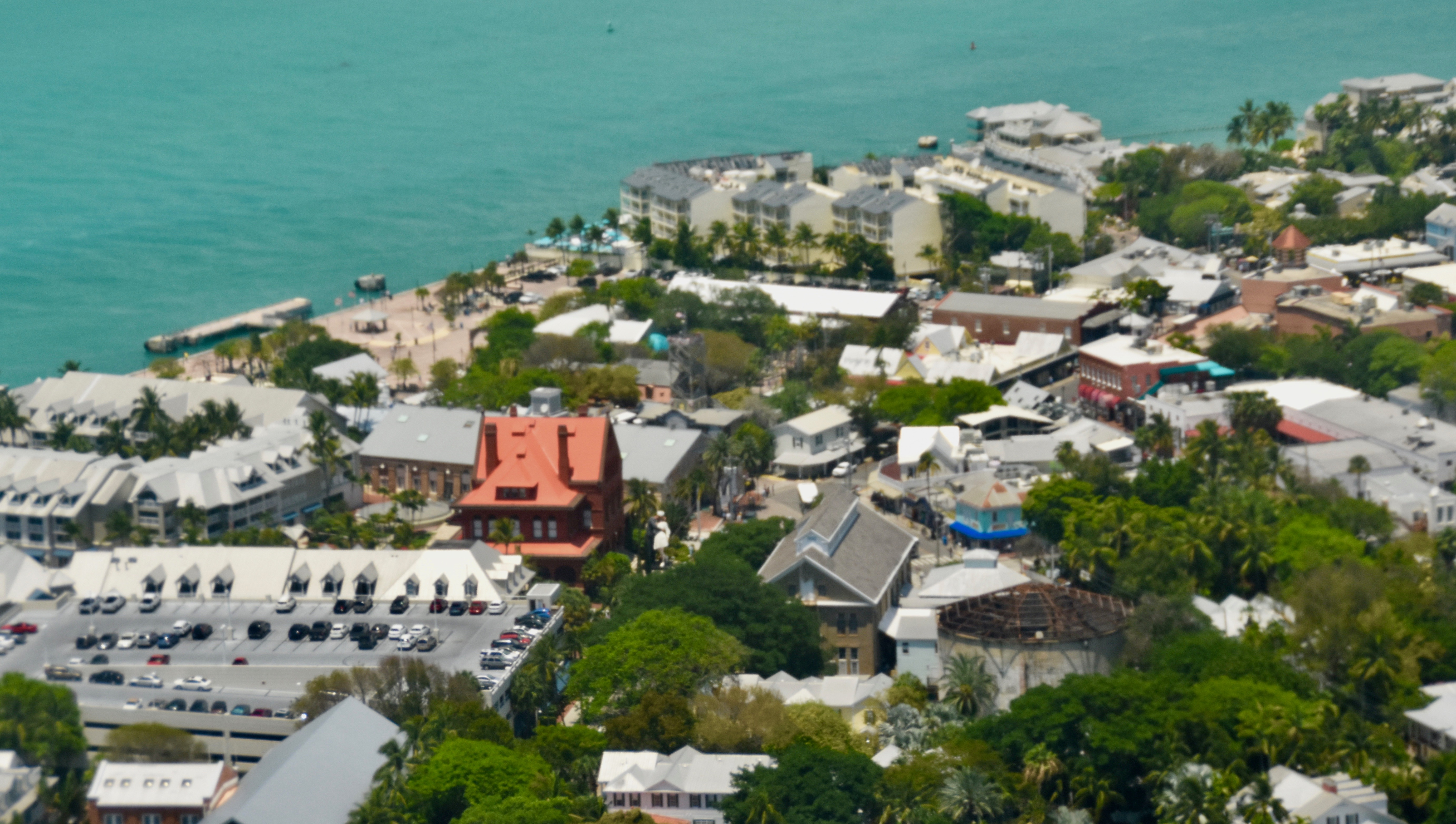 Mallory Square from Above