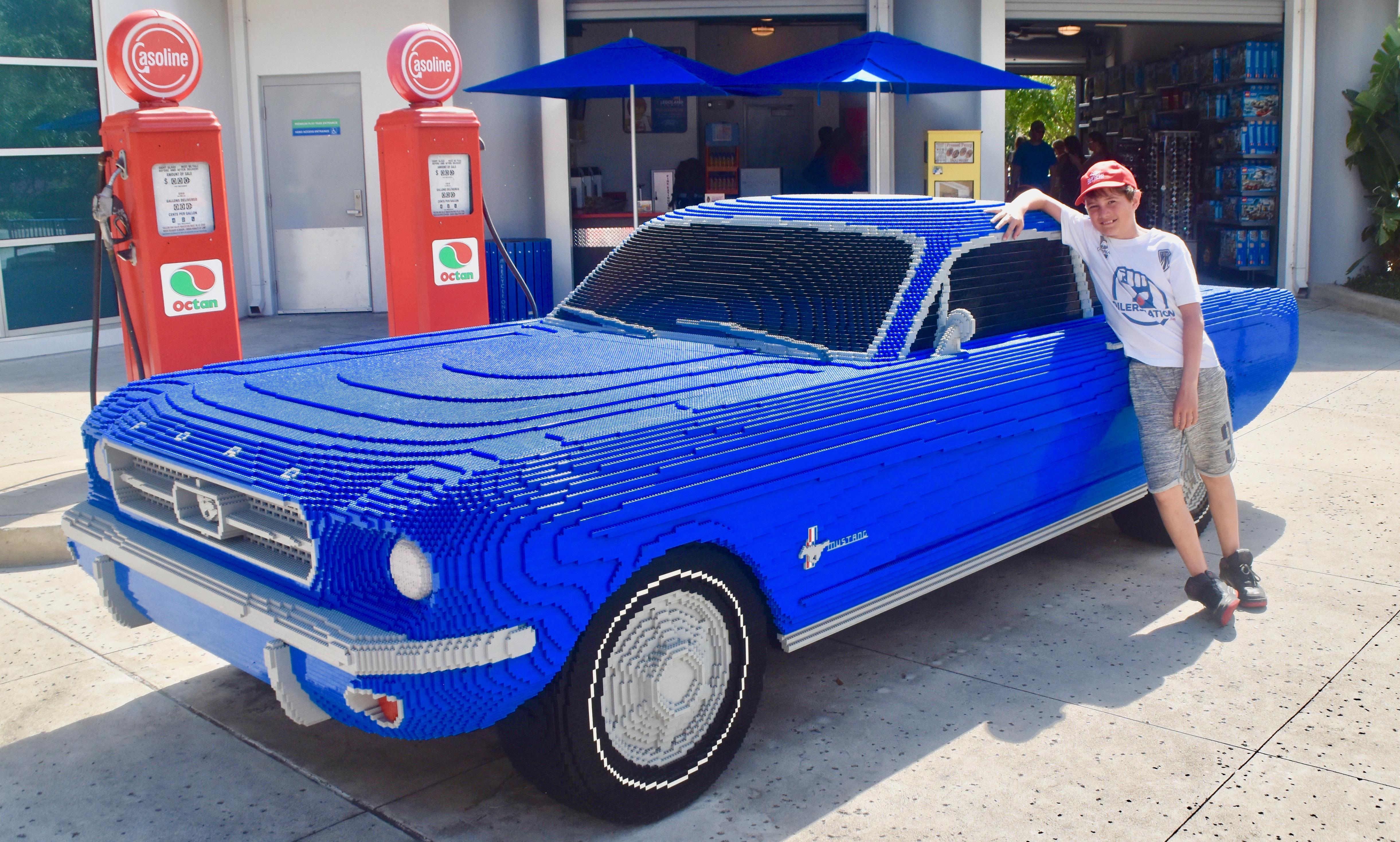 AJ & 1966 Mustang