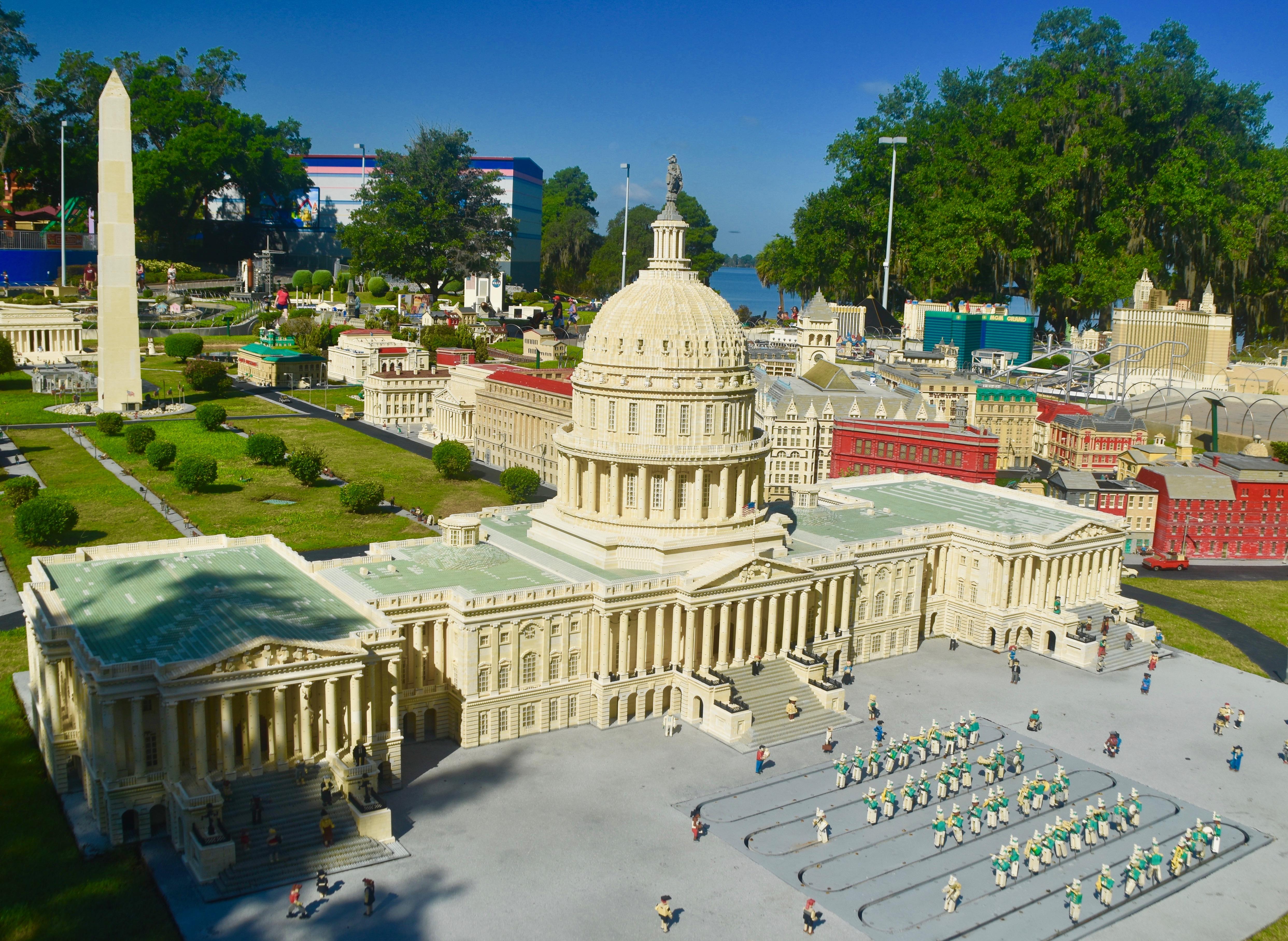 Capitol Building, Legoland Florida