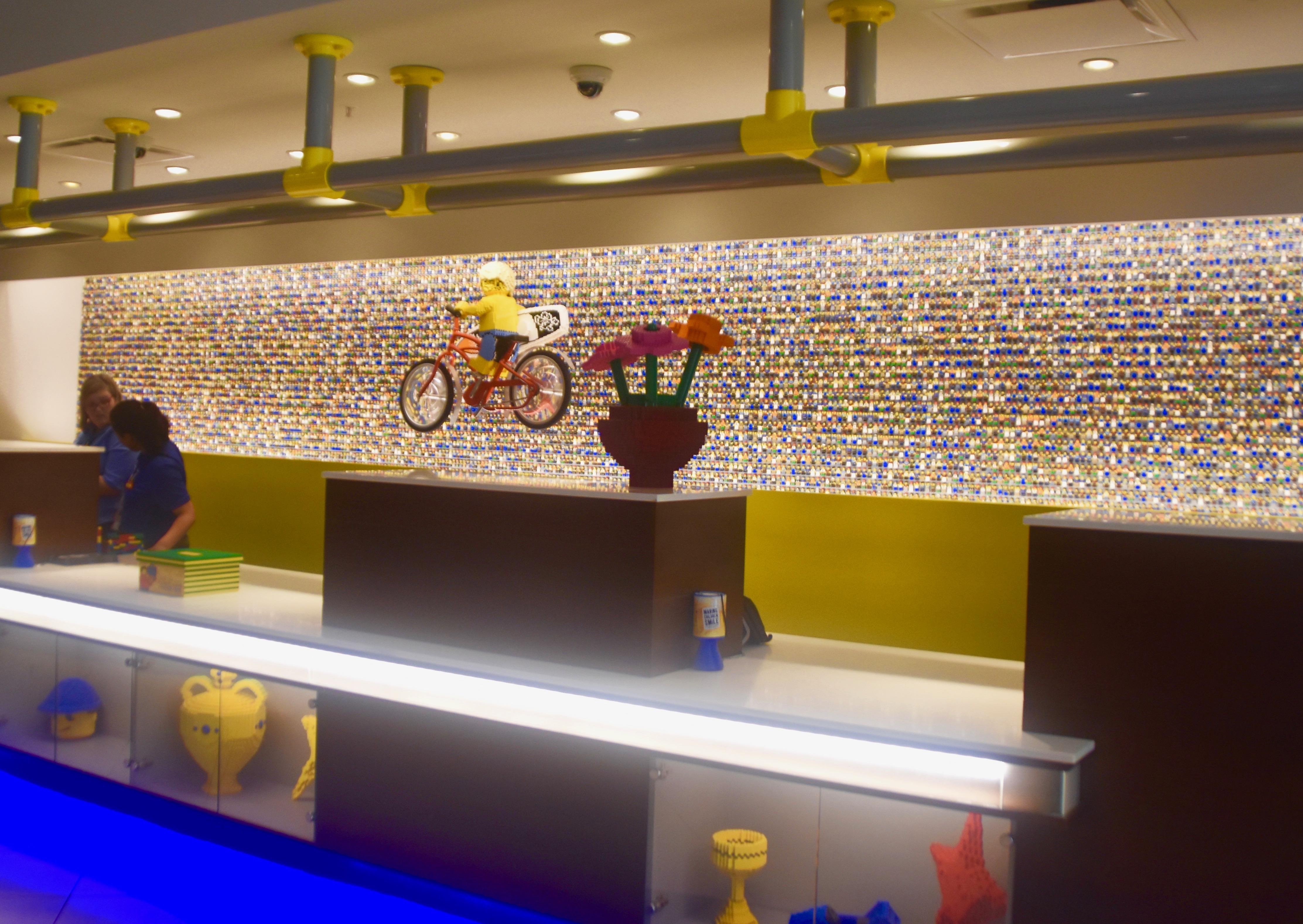 Lobby of Legoland Hotel, Legoland Florida