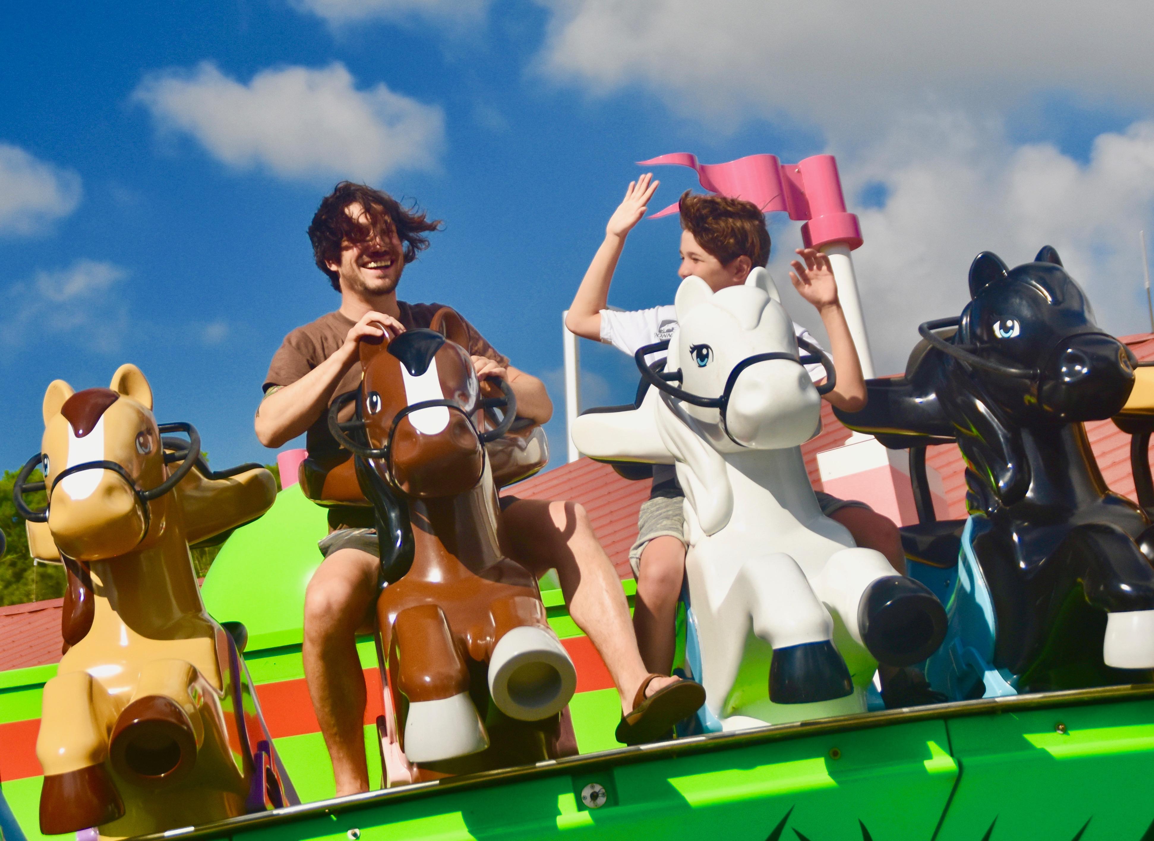 On Mia's Riding Adventure, Legoland Florida