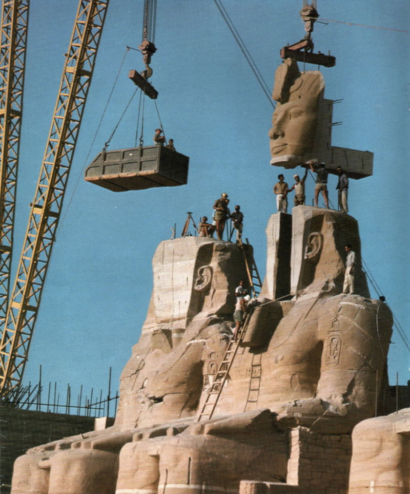 Relocation of Abu Simbel