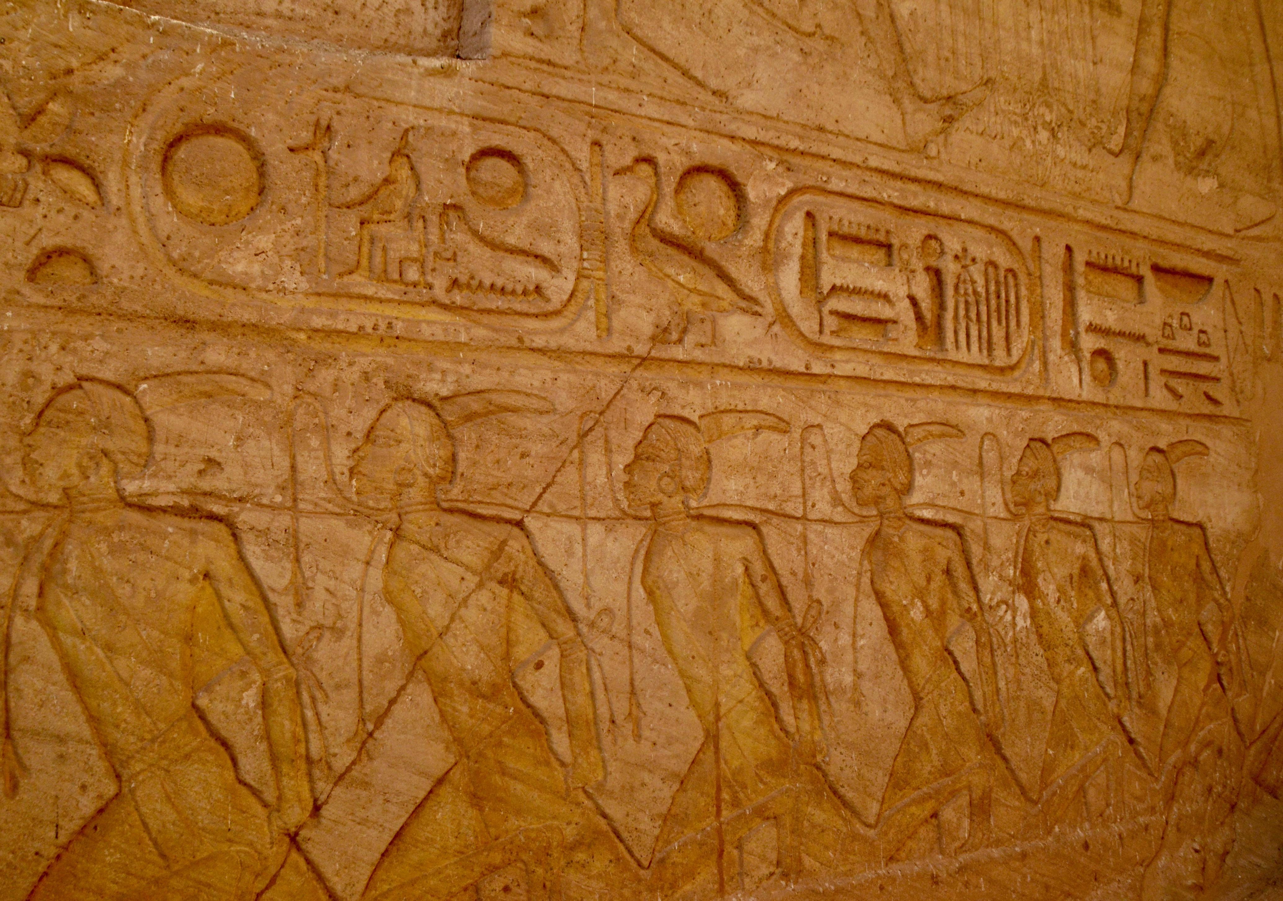 African Prisoners, Abu Simbel