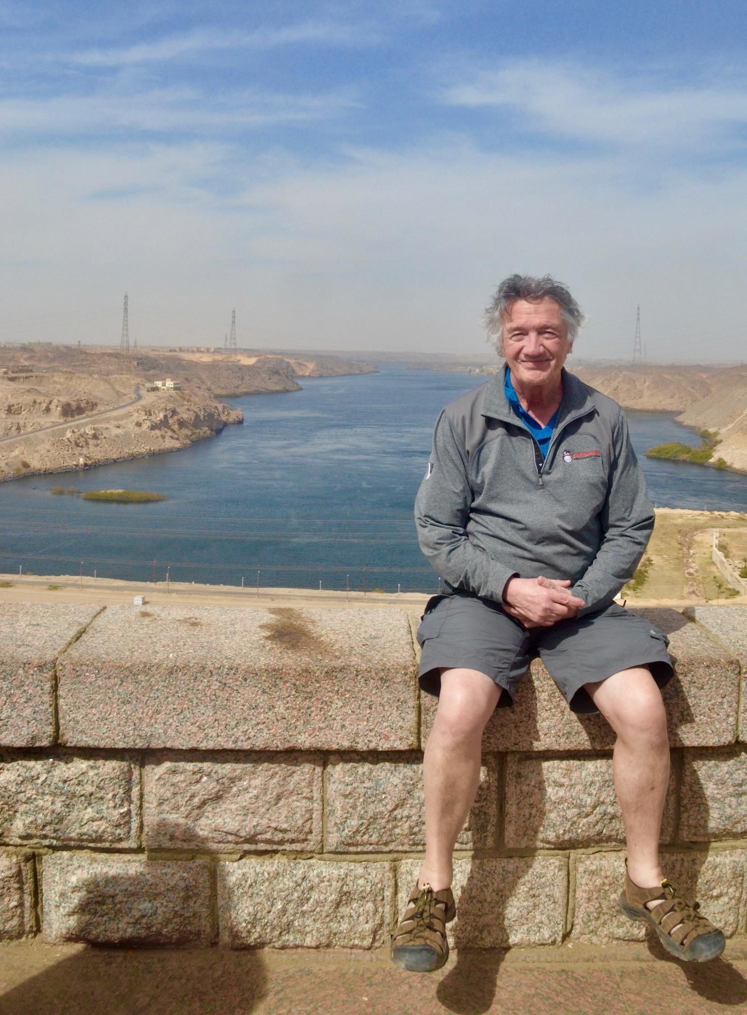 At the Aswan High Dam