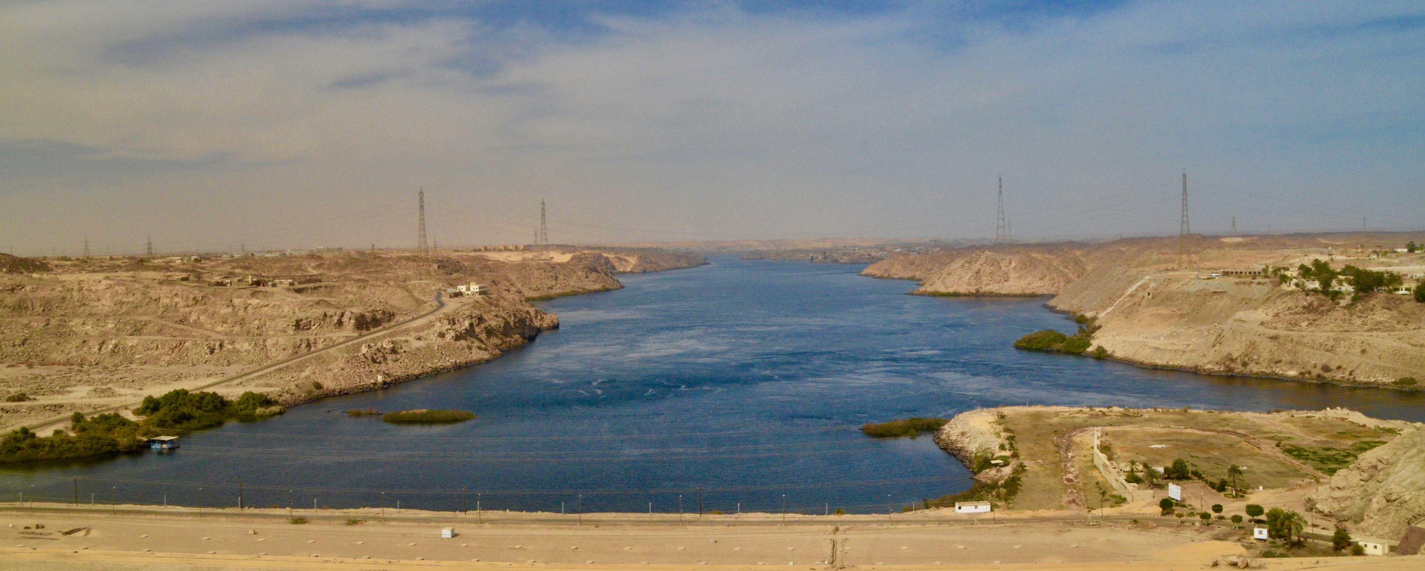 Below the High Dam, Aswan