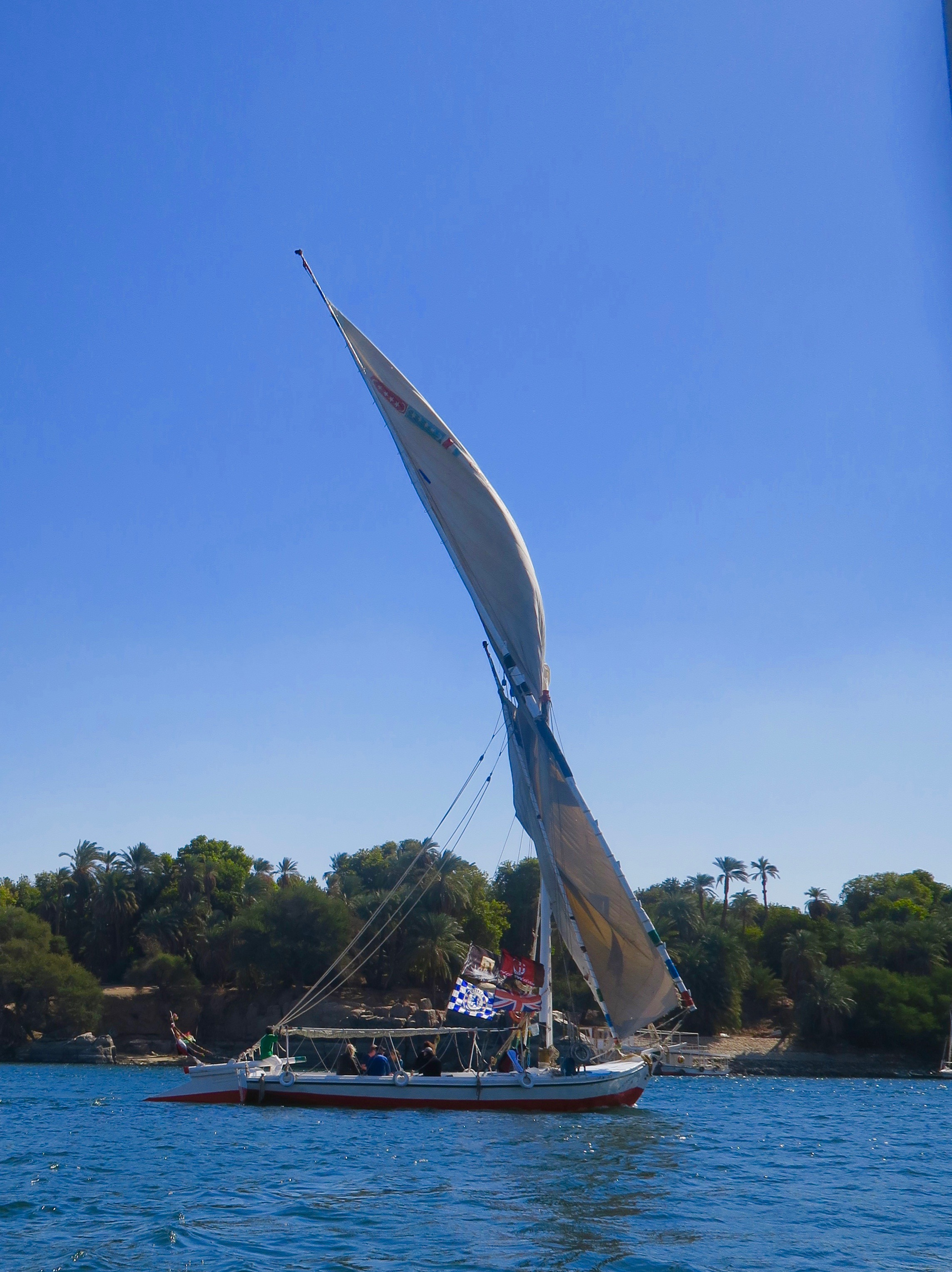 Felucca in Full Sail, Aswan