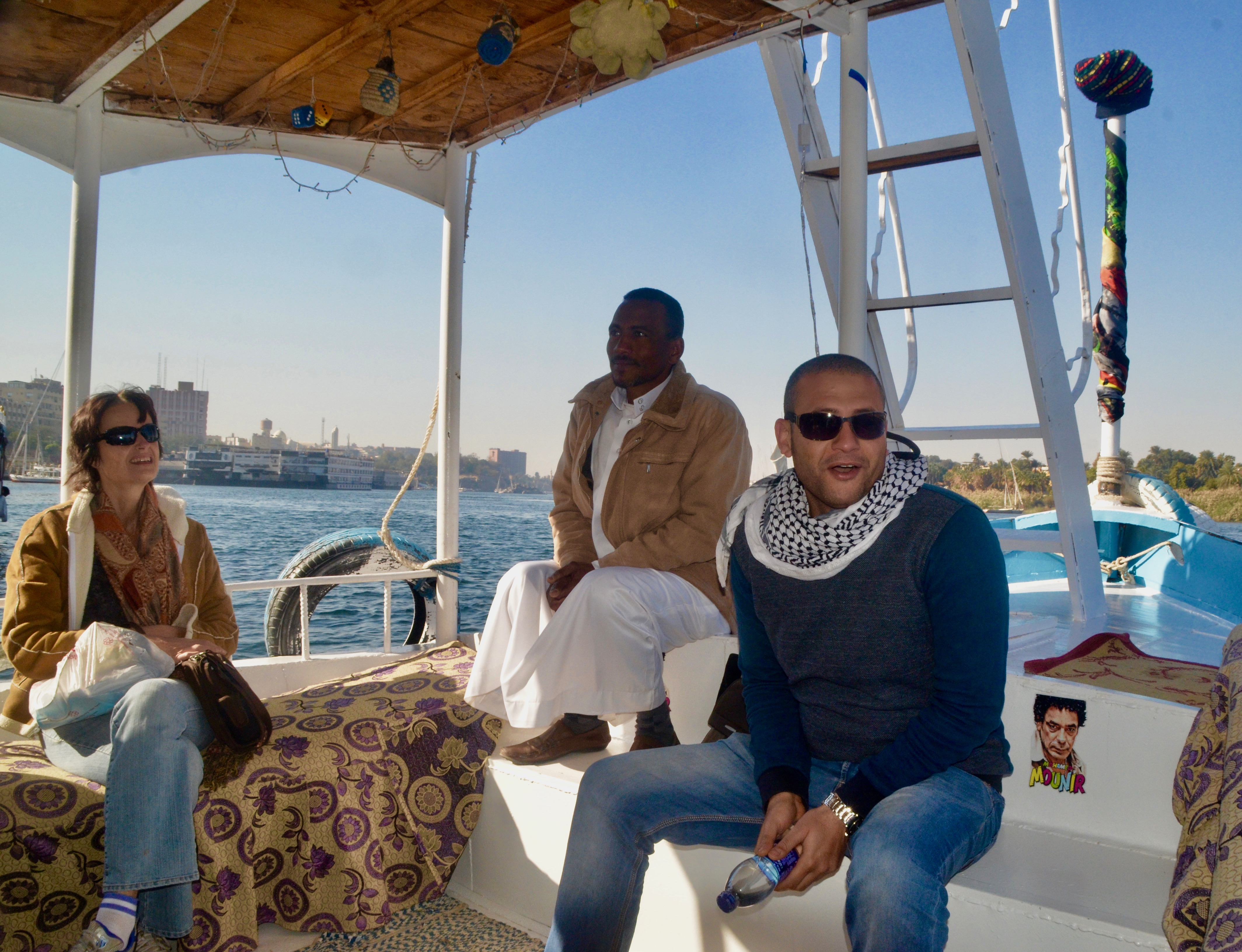 On the Nile with Ahmed