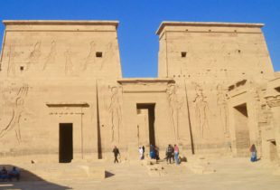 Philae Temples - Entrance to the Temple of Isis