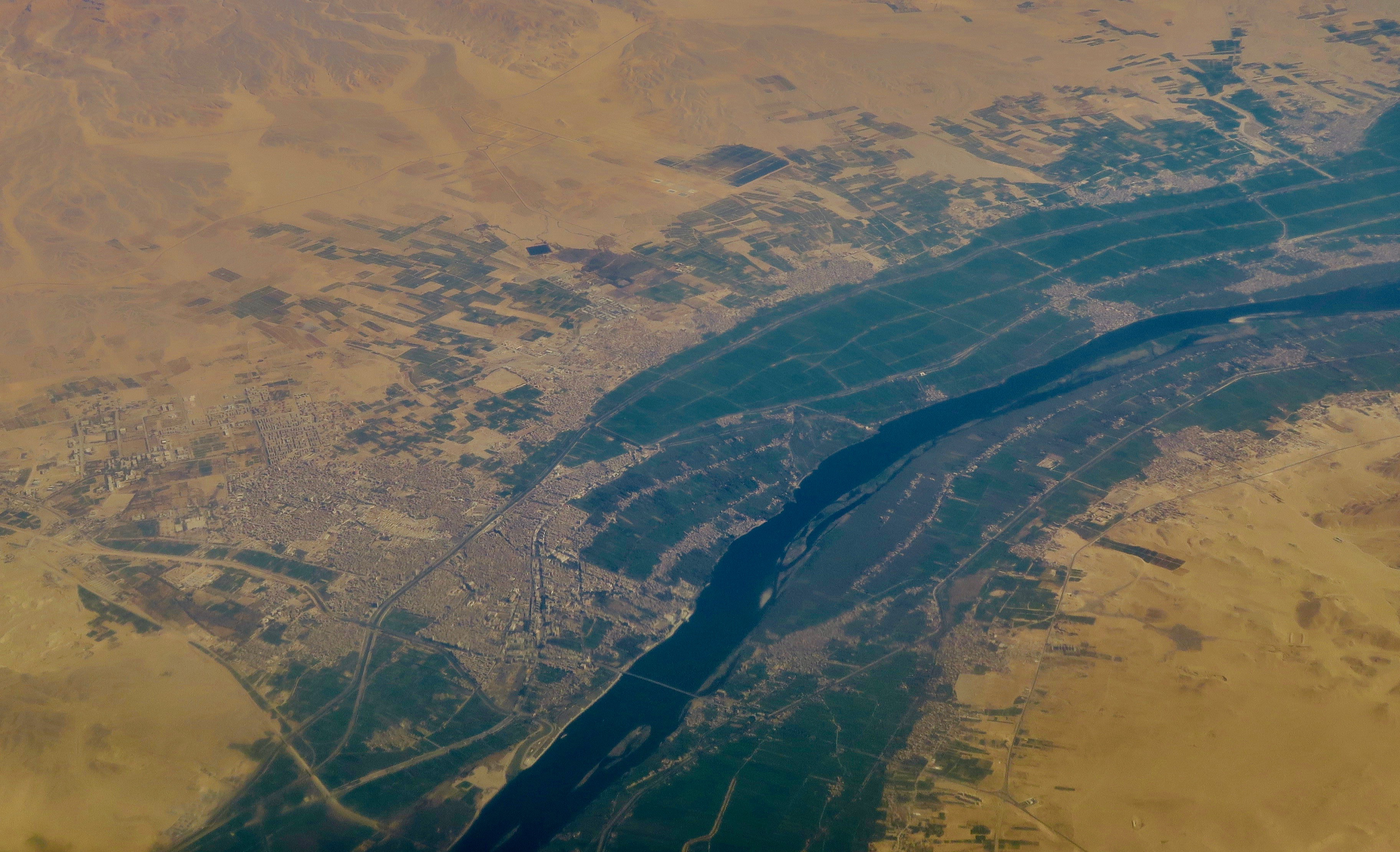 The Nile from the Air