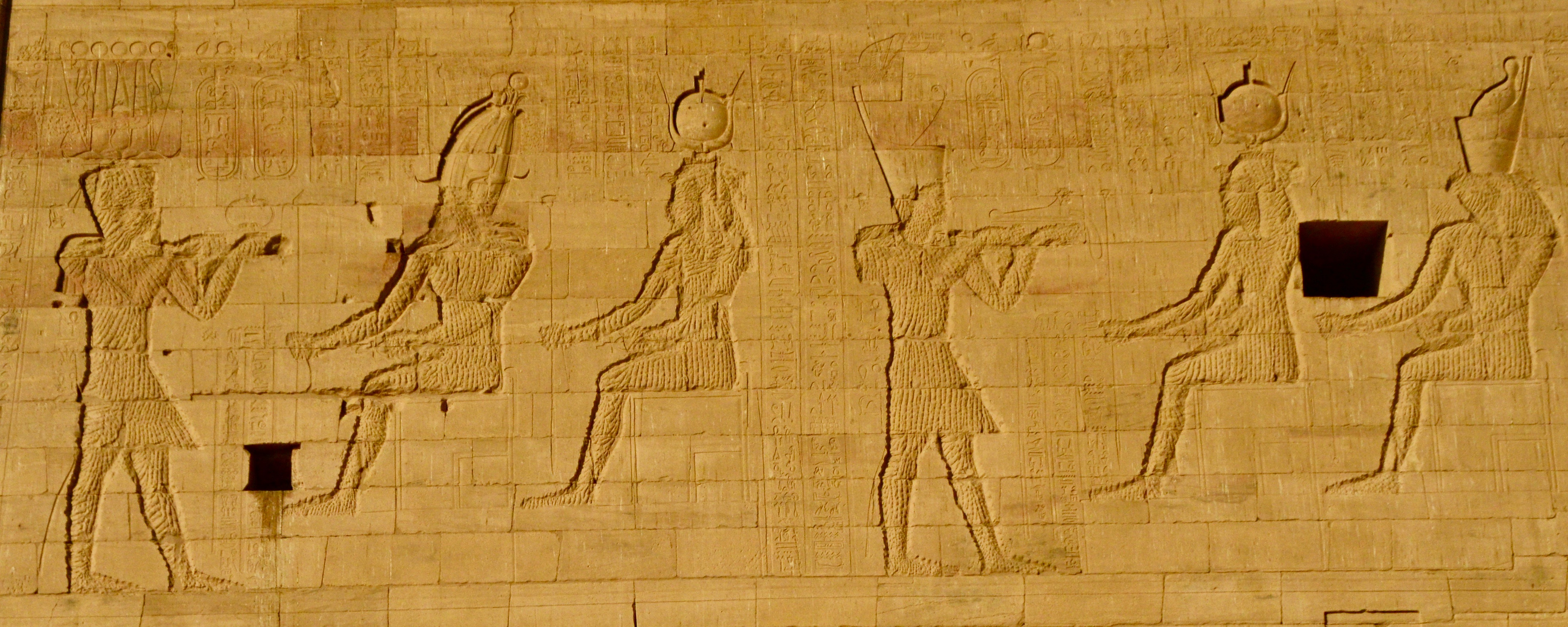 Vandalized Gods, Philae Temples