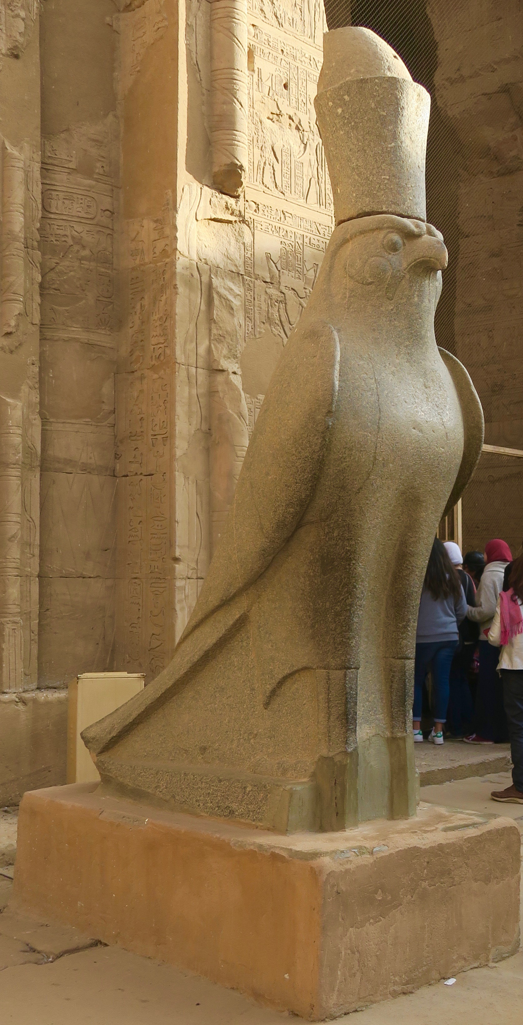 Best Preserved Horus Statue in Egypt, Edfu