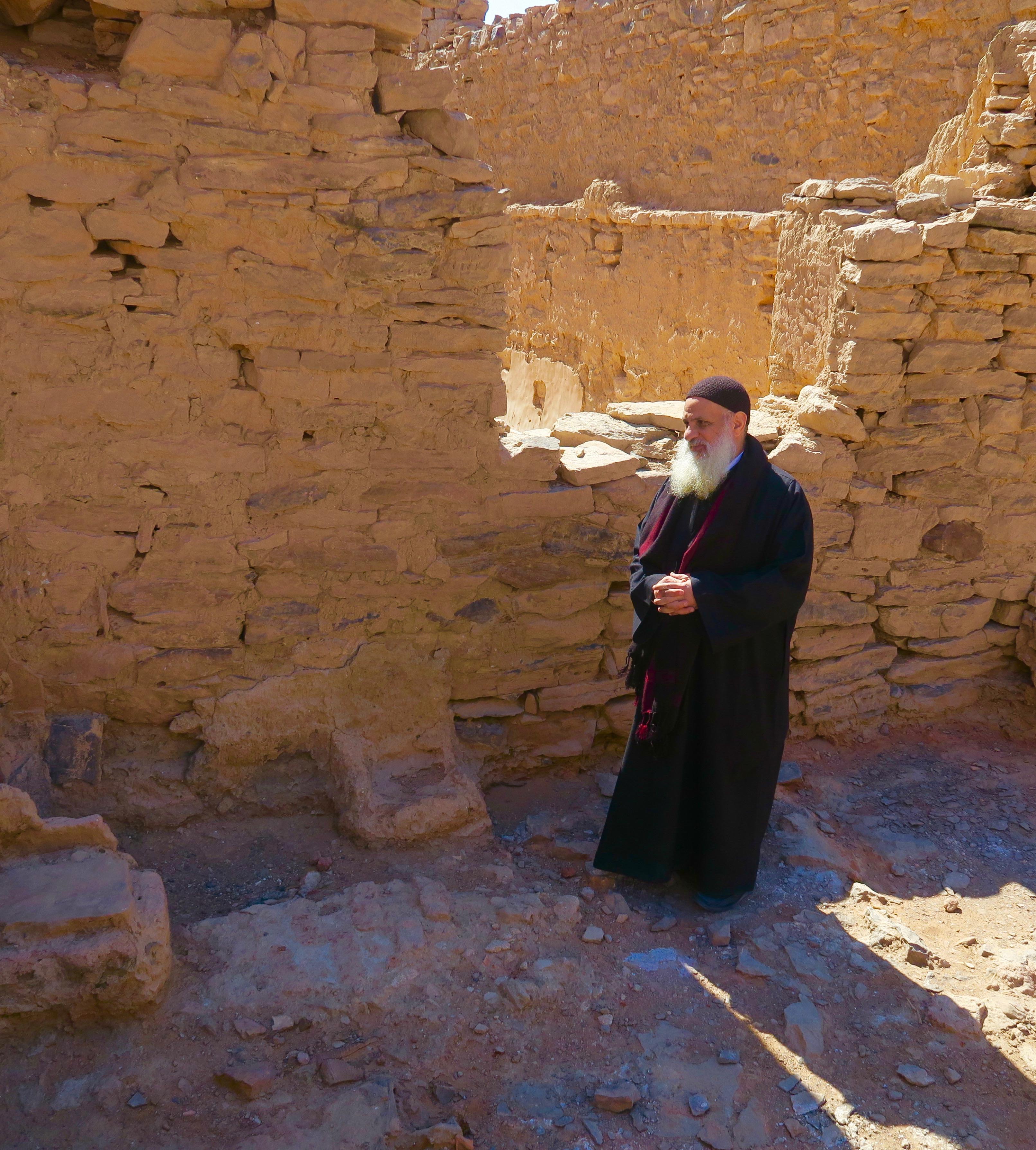 Coptic Monk, St. Simeon Monastery