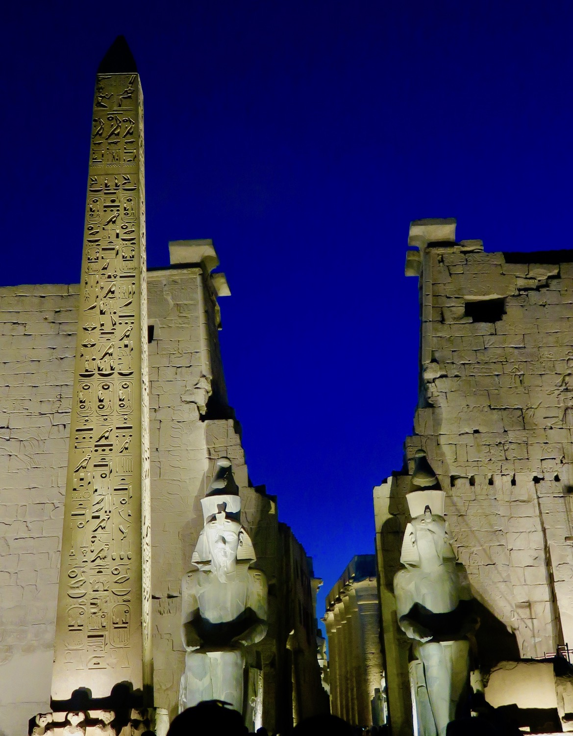 Entrance to Temple of Luxor