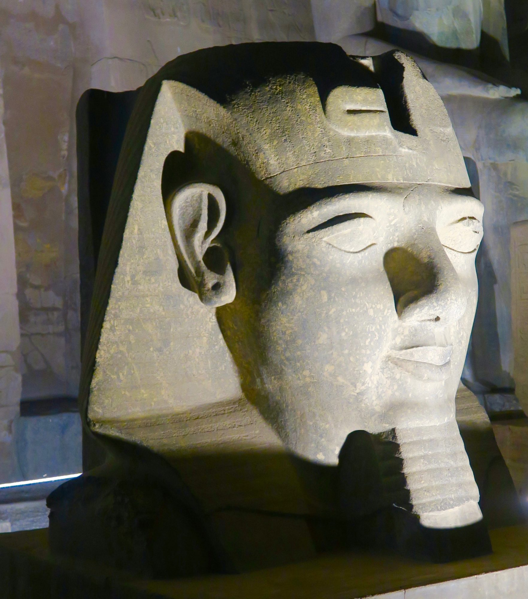 Head of Ramses II, Luxor