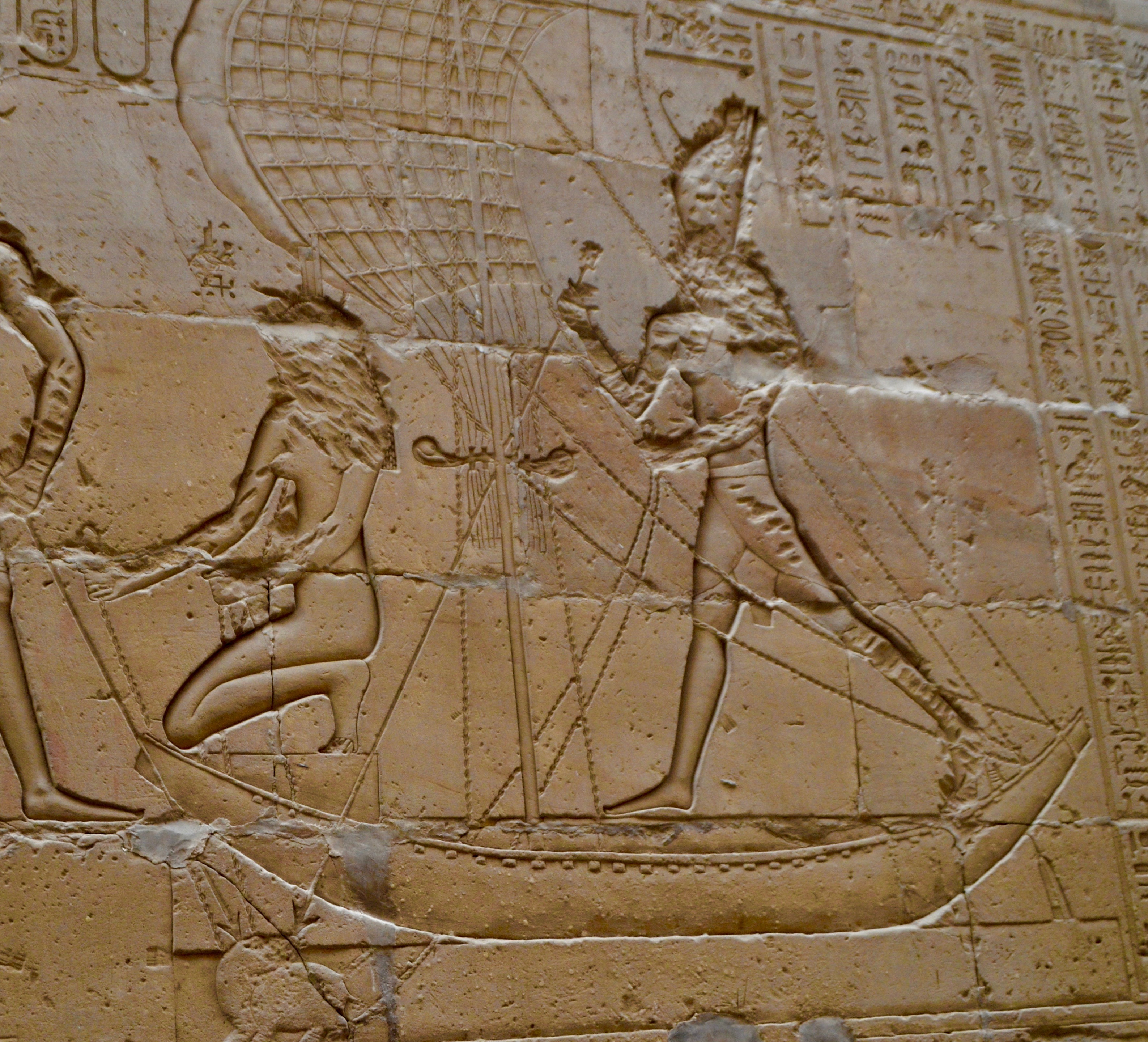 Hieroglyphic Felucca