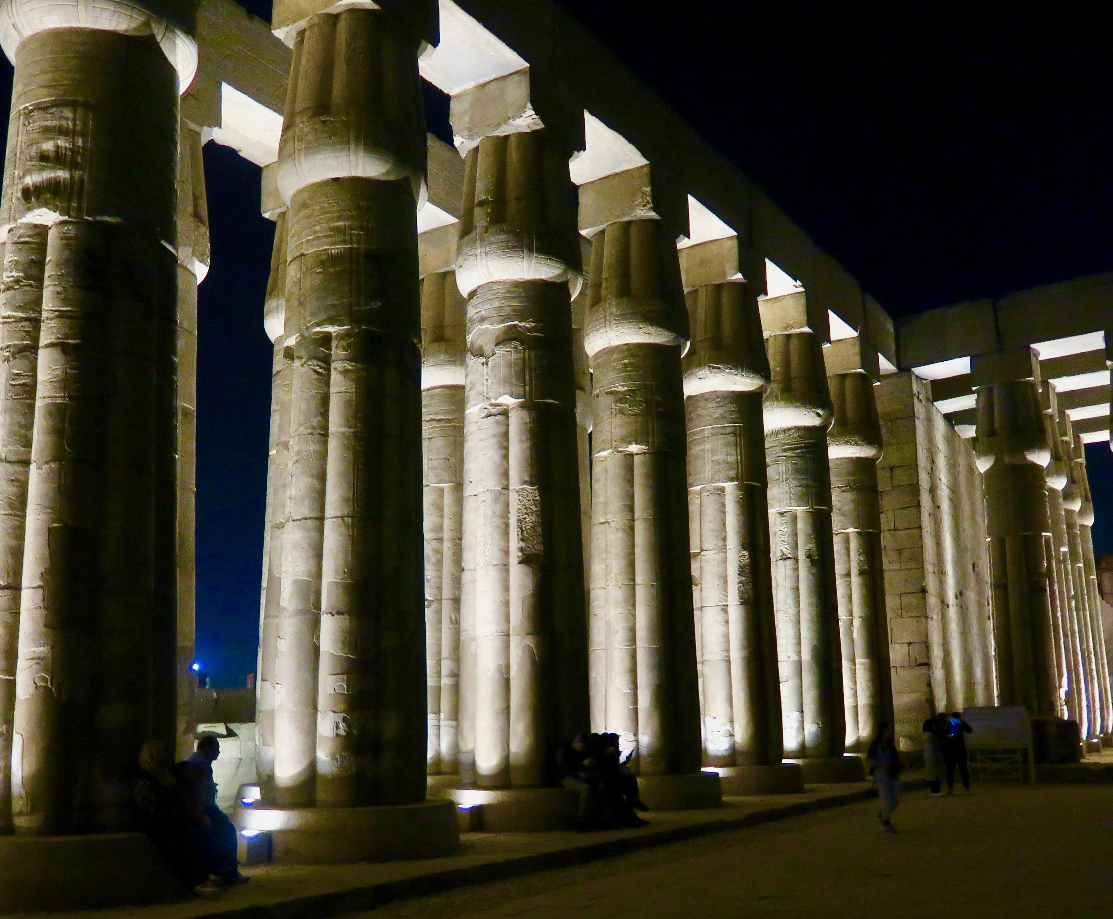 Luxor Pillars