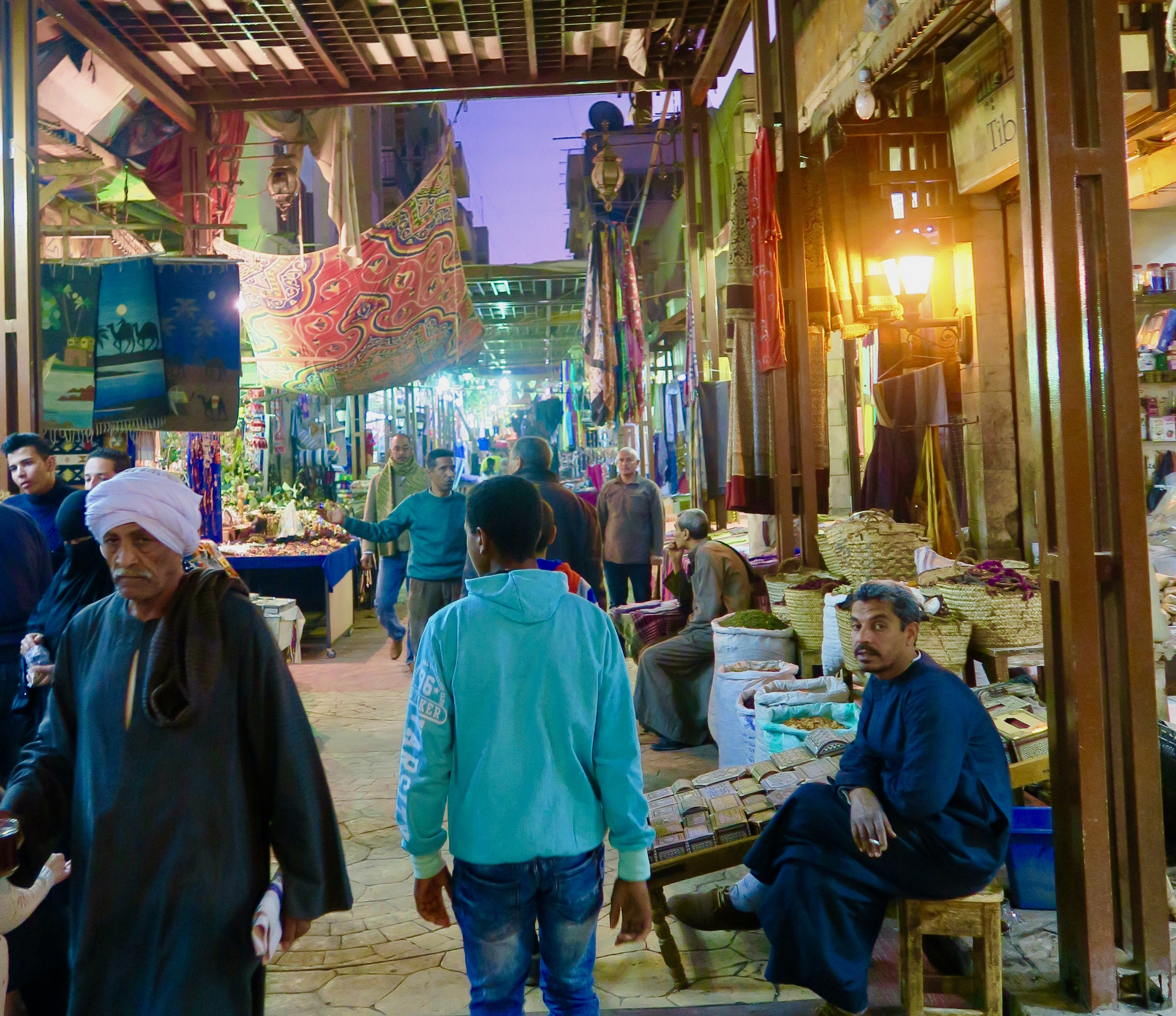 The Souk at Luxor