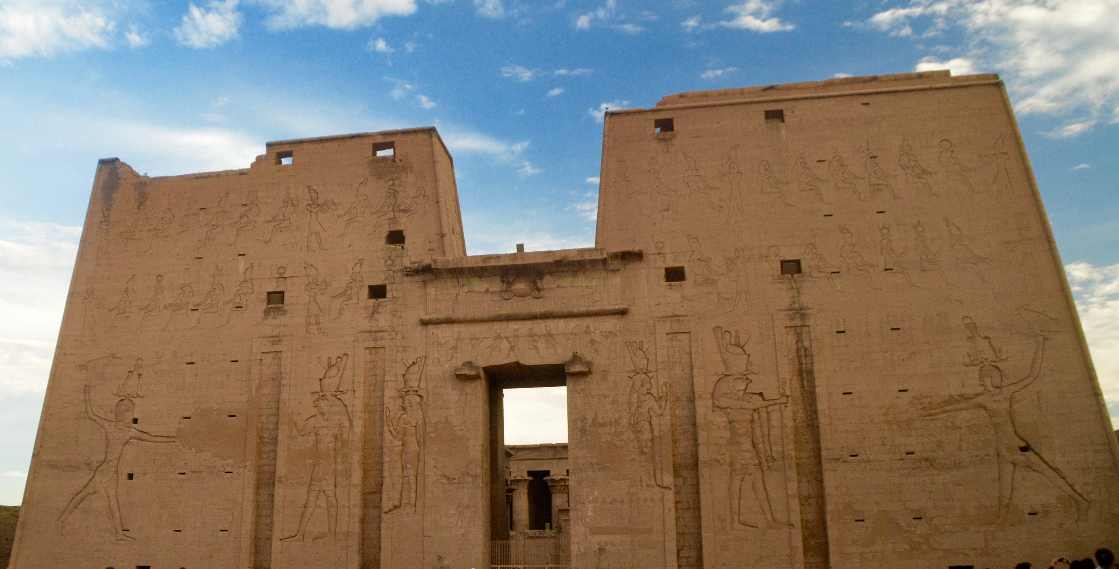 Main Entrance Pylons, Edfu