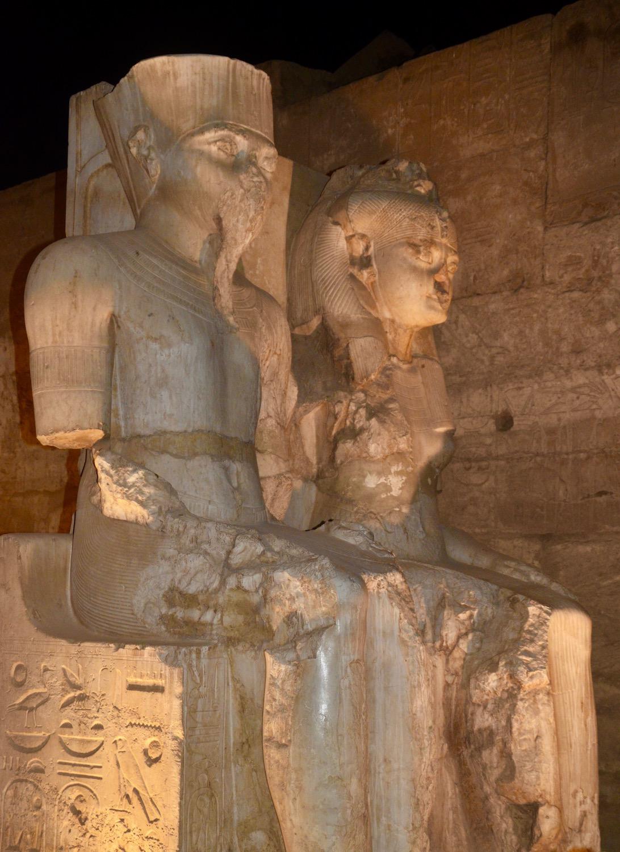 Ramses II & Nefertari, Luxor Temple