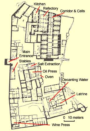 Plan of St. Simeon Monastery