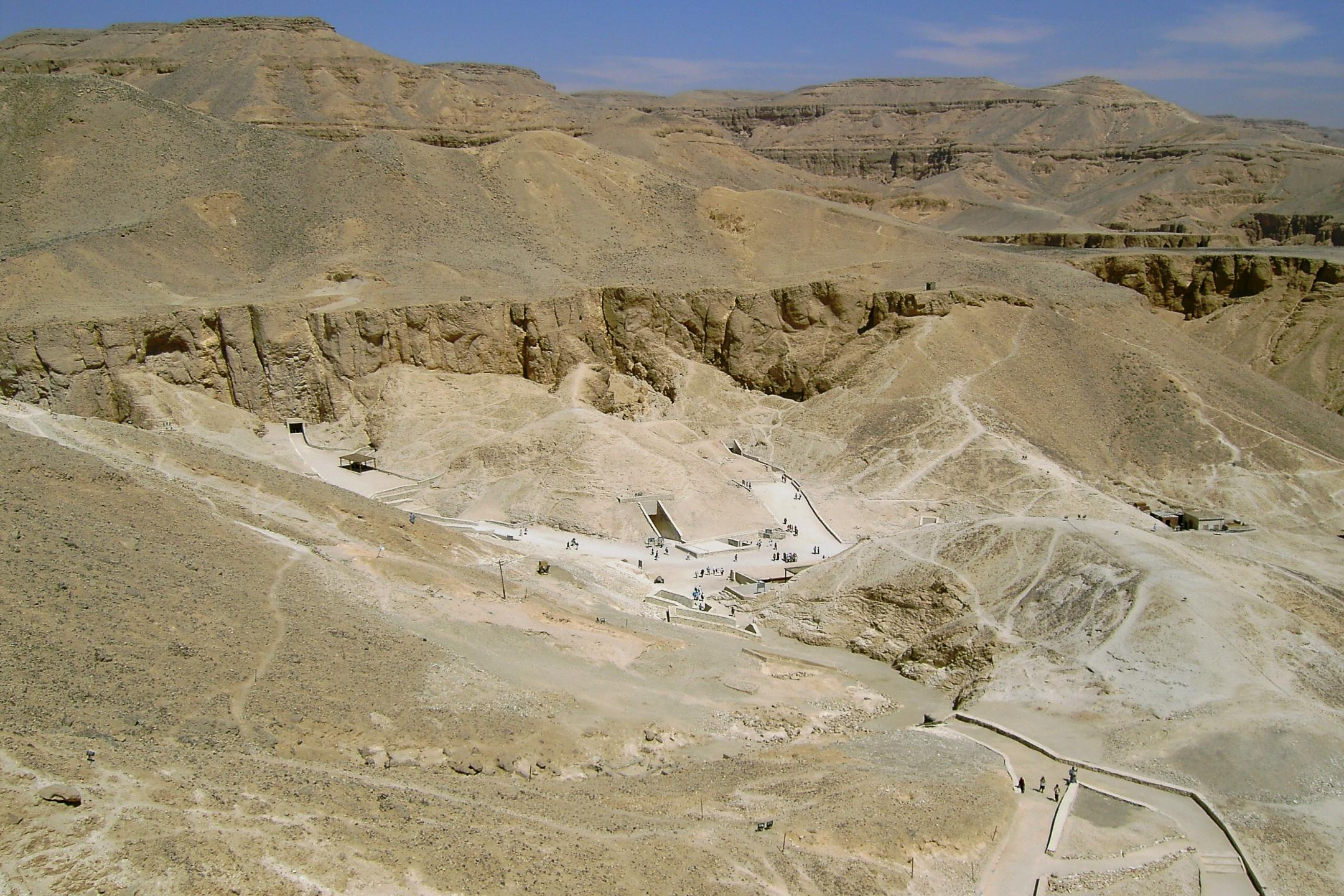 Valley of the Kings from Above