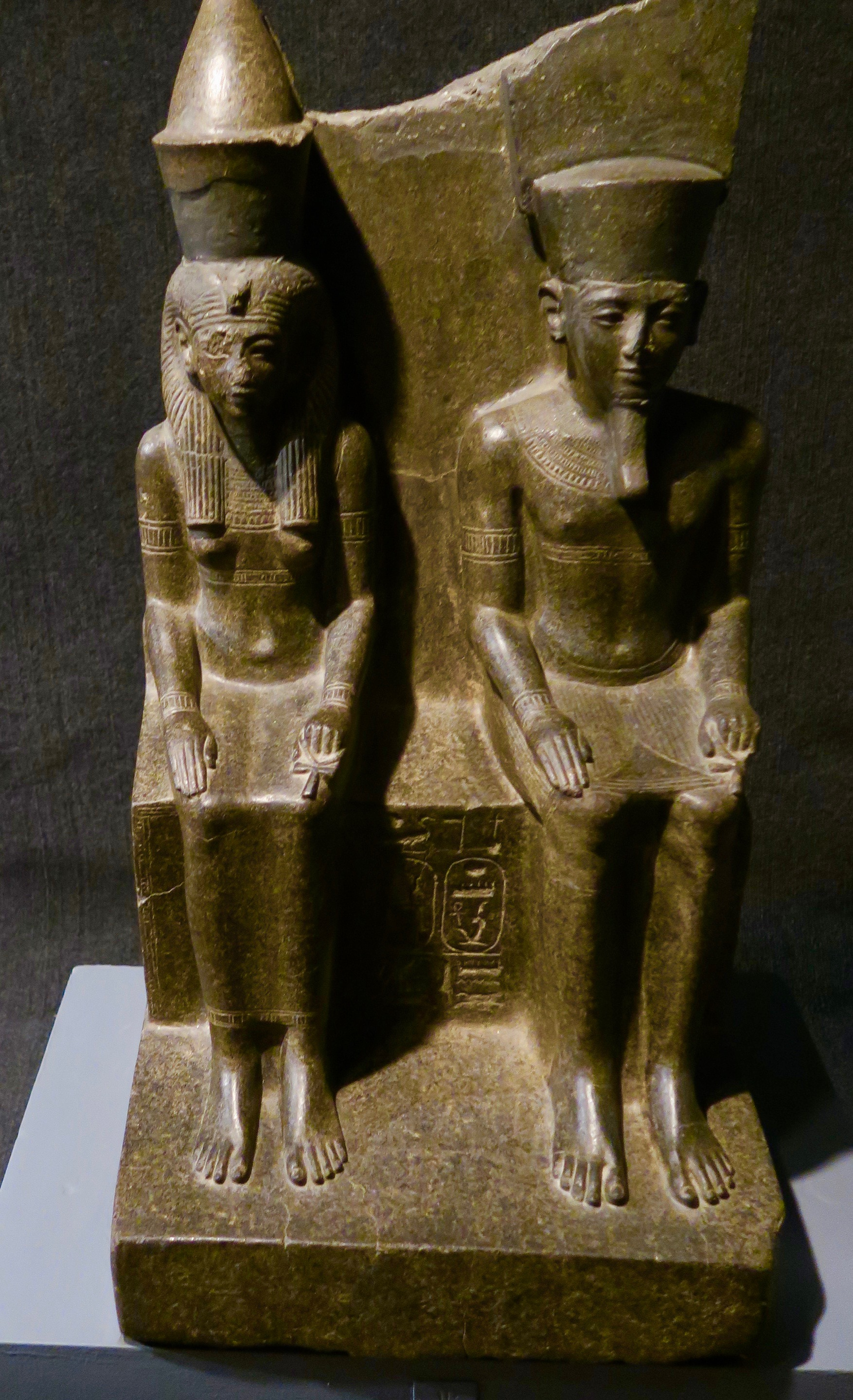 Amun & His Wife Mut, Luxor Museum