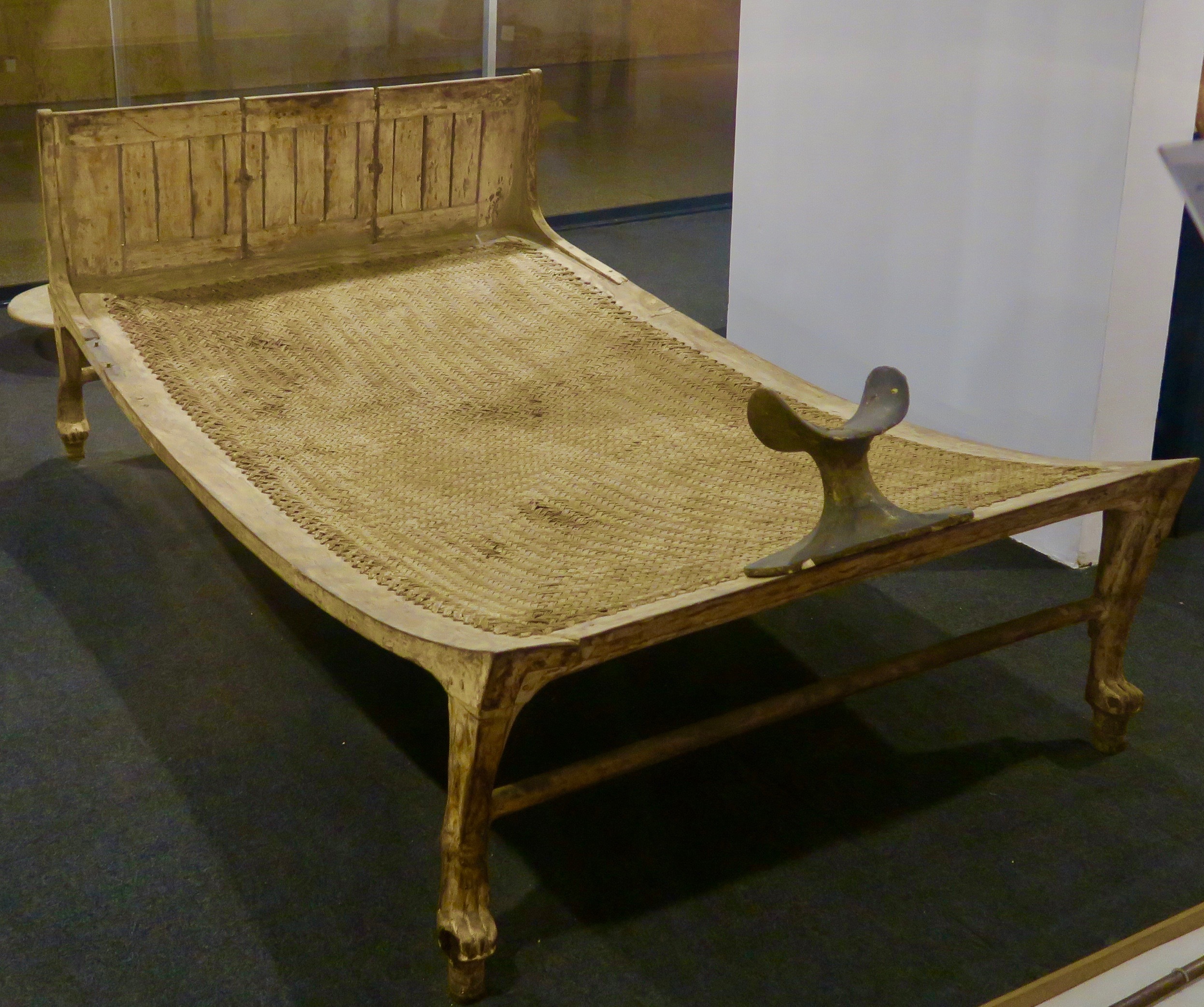 Bed from Tomb of King Tut