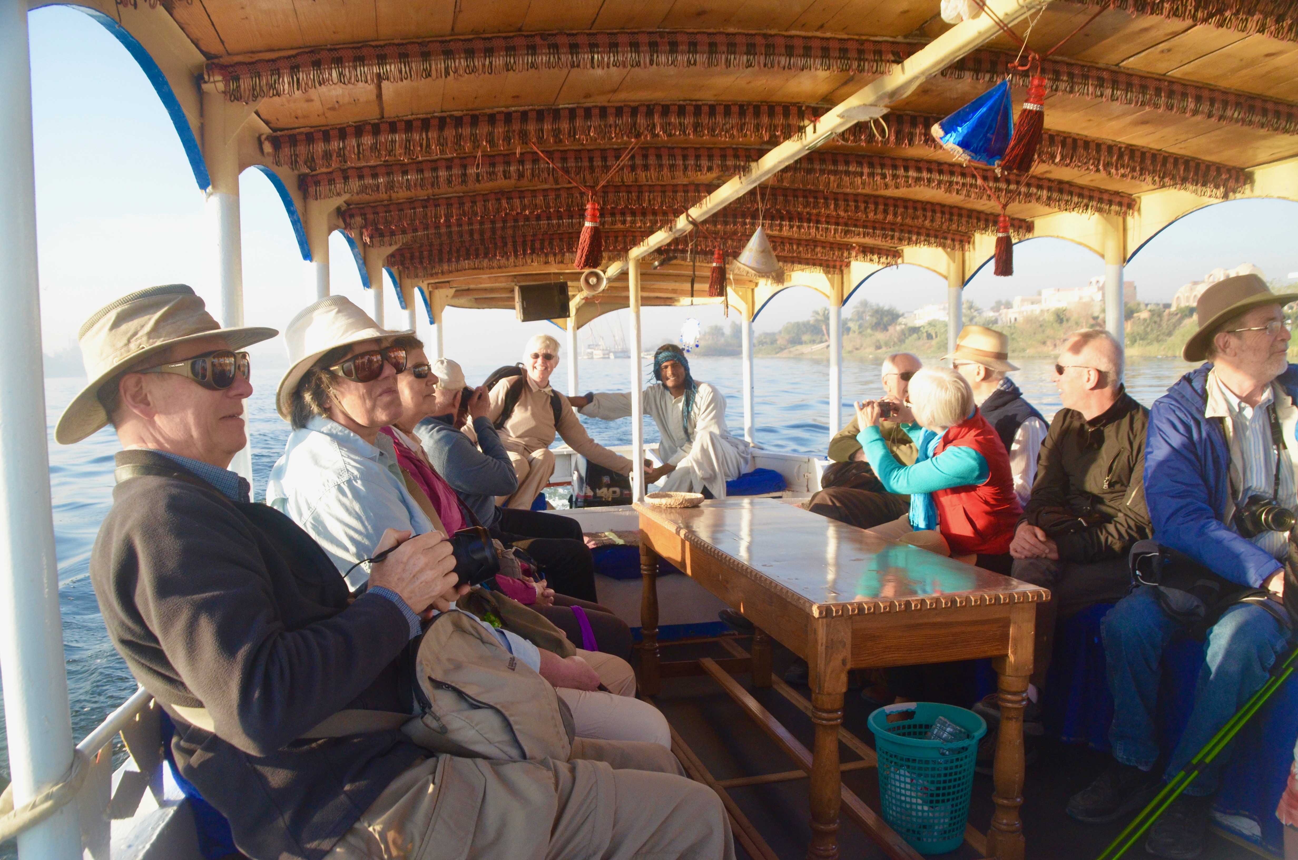Crossing the Nile to the Valley of the Kings