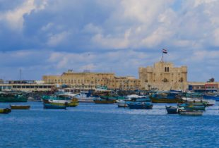 Fishing Boats and Citadel, Alexandria