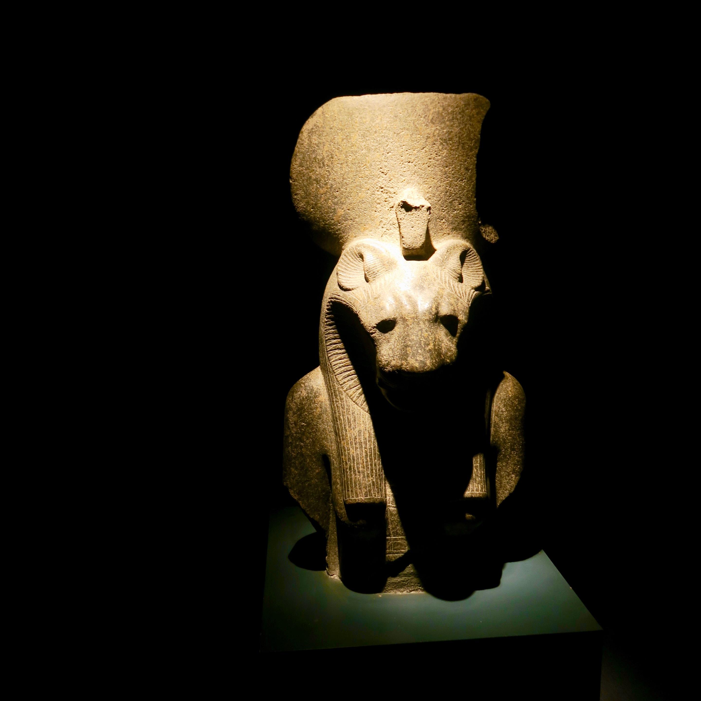 Head of Sekhmet, Luxor Museum