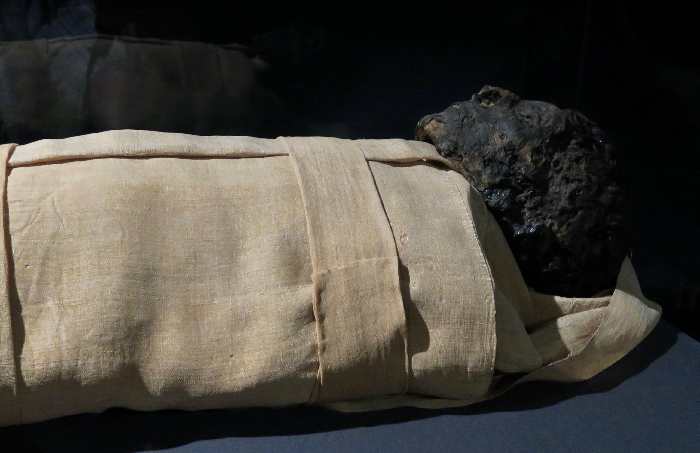 Mummy of Ahmose, Luxor Museum