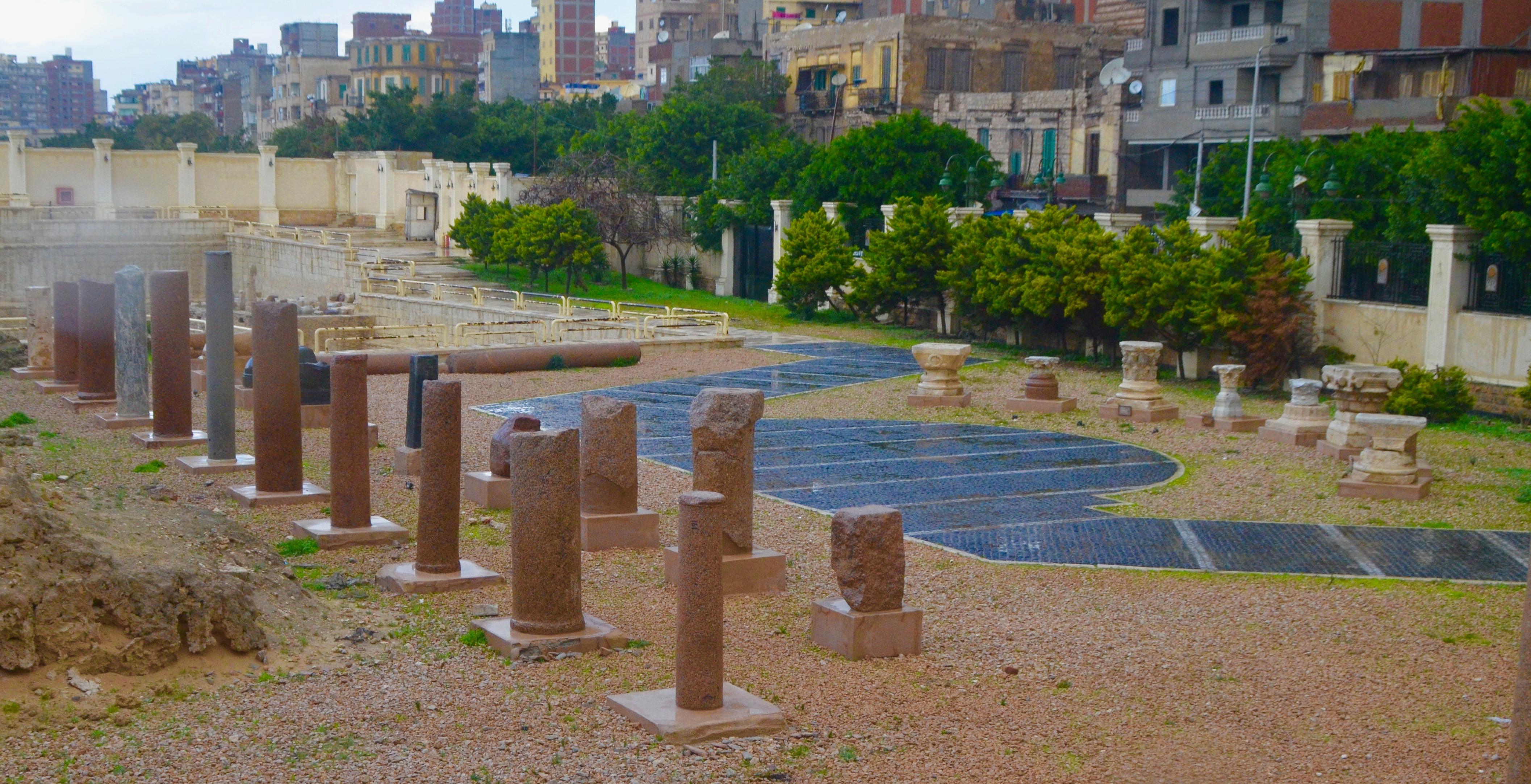 Remains of Serapeum, Alexandria