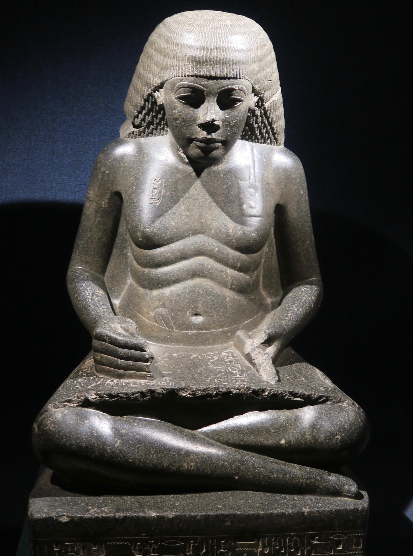 Royal Scribe, Luxor Museum