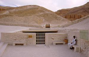Entrance to Tut's Tomb