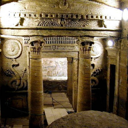 Catacombs of Kom el Shoqafa