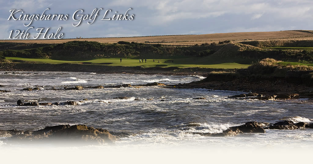 Kingsbarns with the Tide In